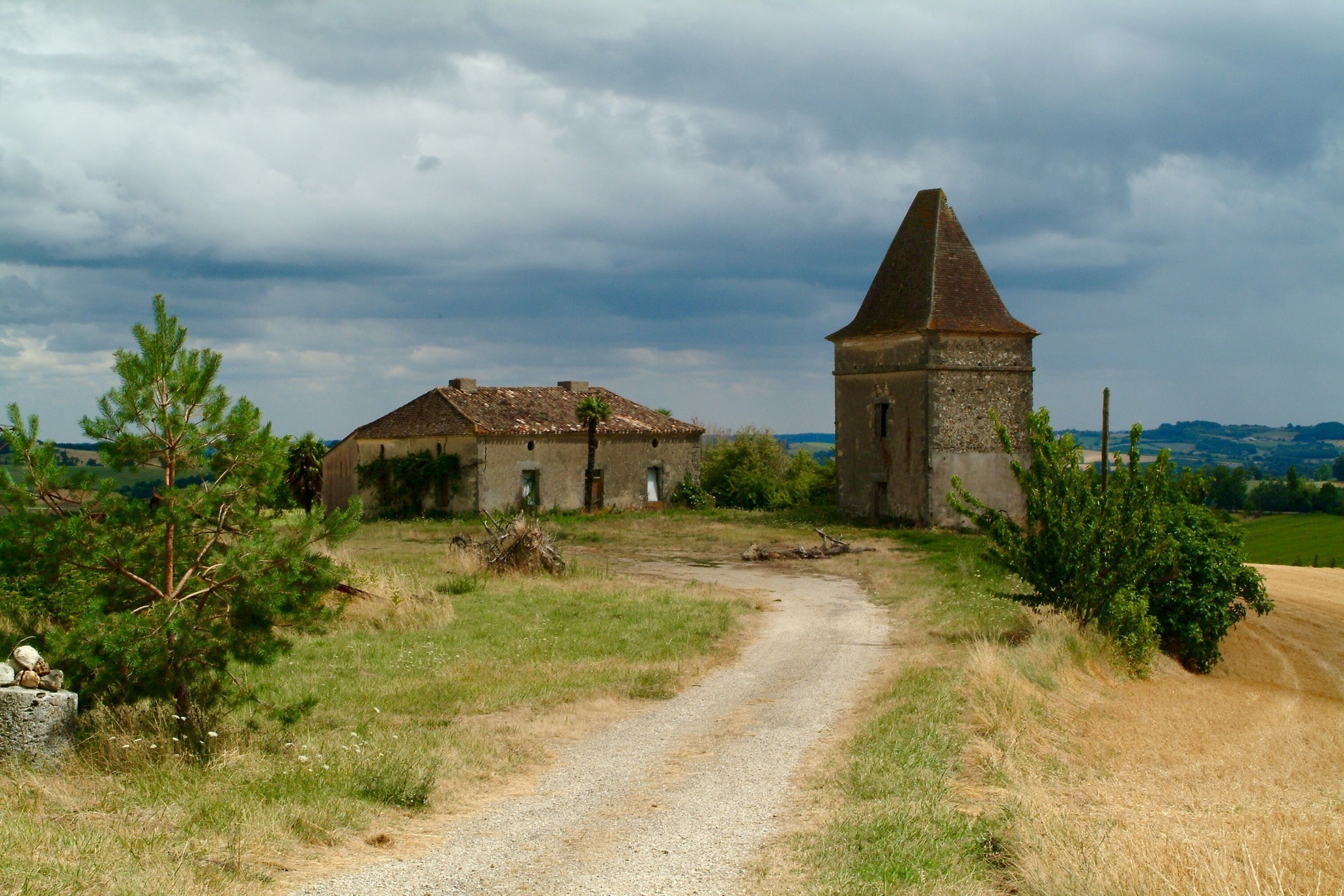 Storm coming in the Dordogne by Richie Gray
