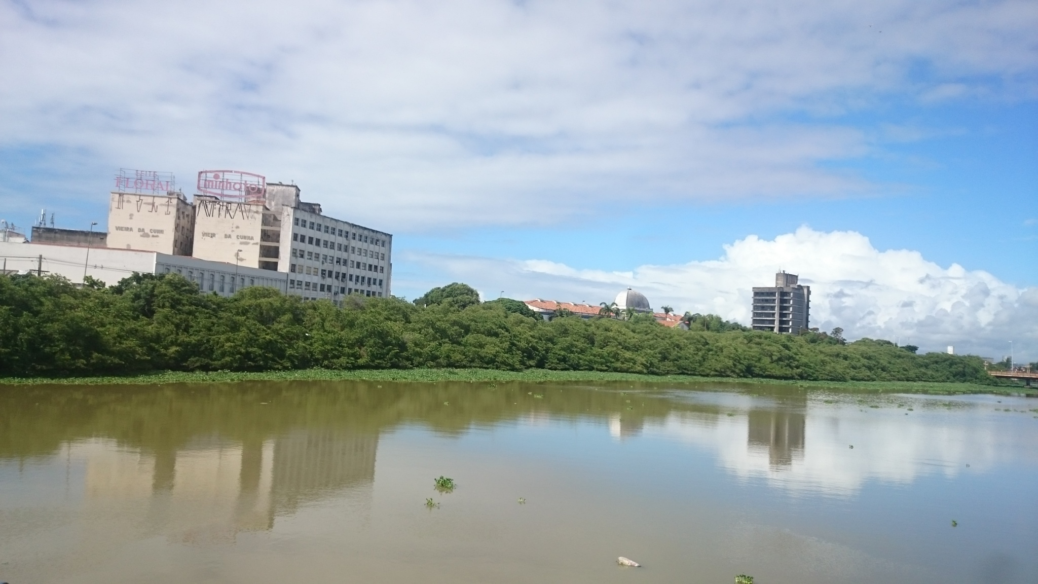 Rio Capibaribe , Recife , Brasil by edu7777