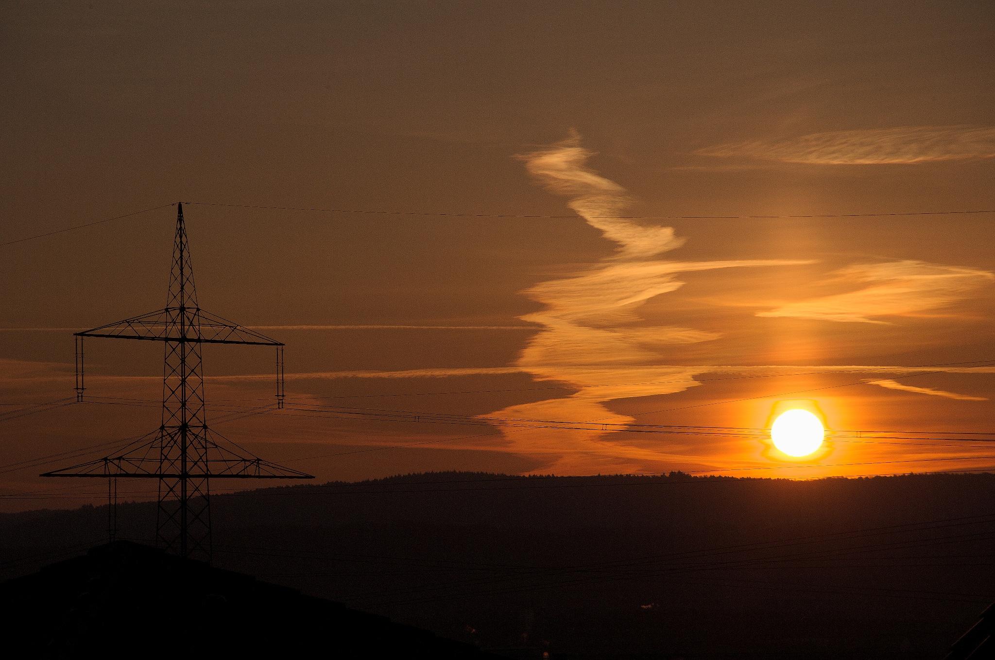 Sonnenaufgang by Blandyna Bogdol