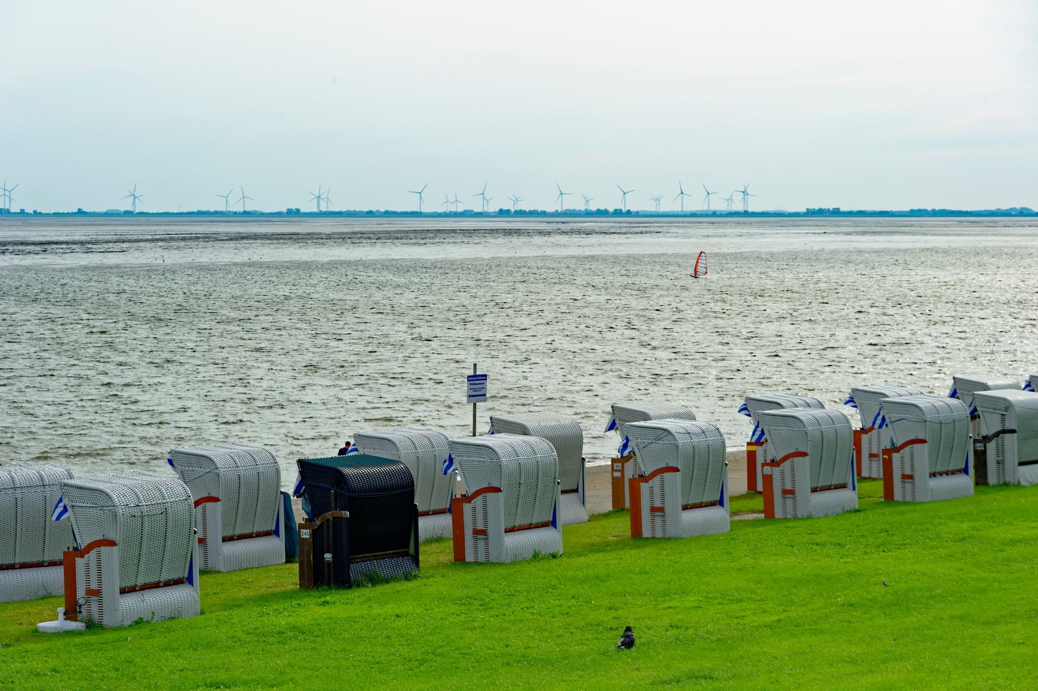 Sommererinnerung aus Wilhelmshaven by Blandyna Bogdol