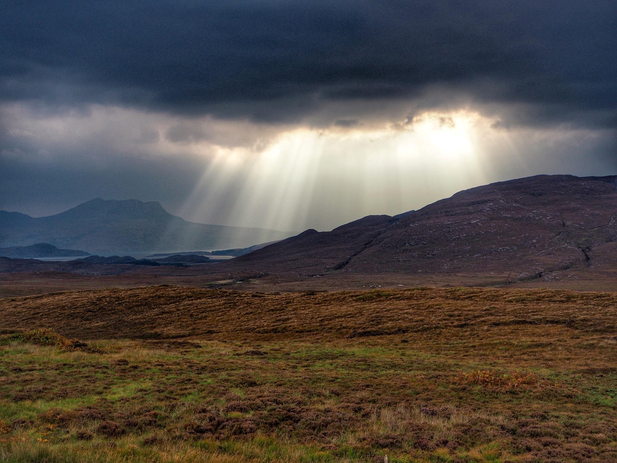 North west highlands Scotland  by Stephen Miller