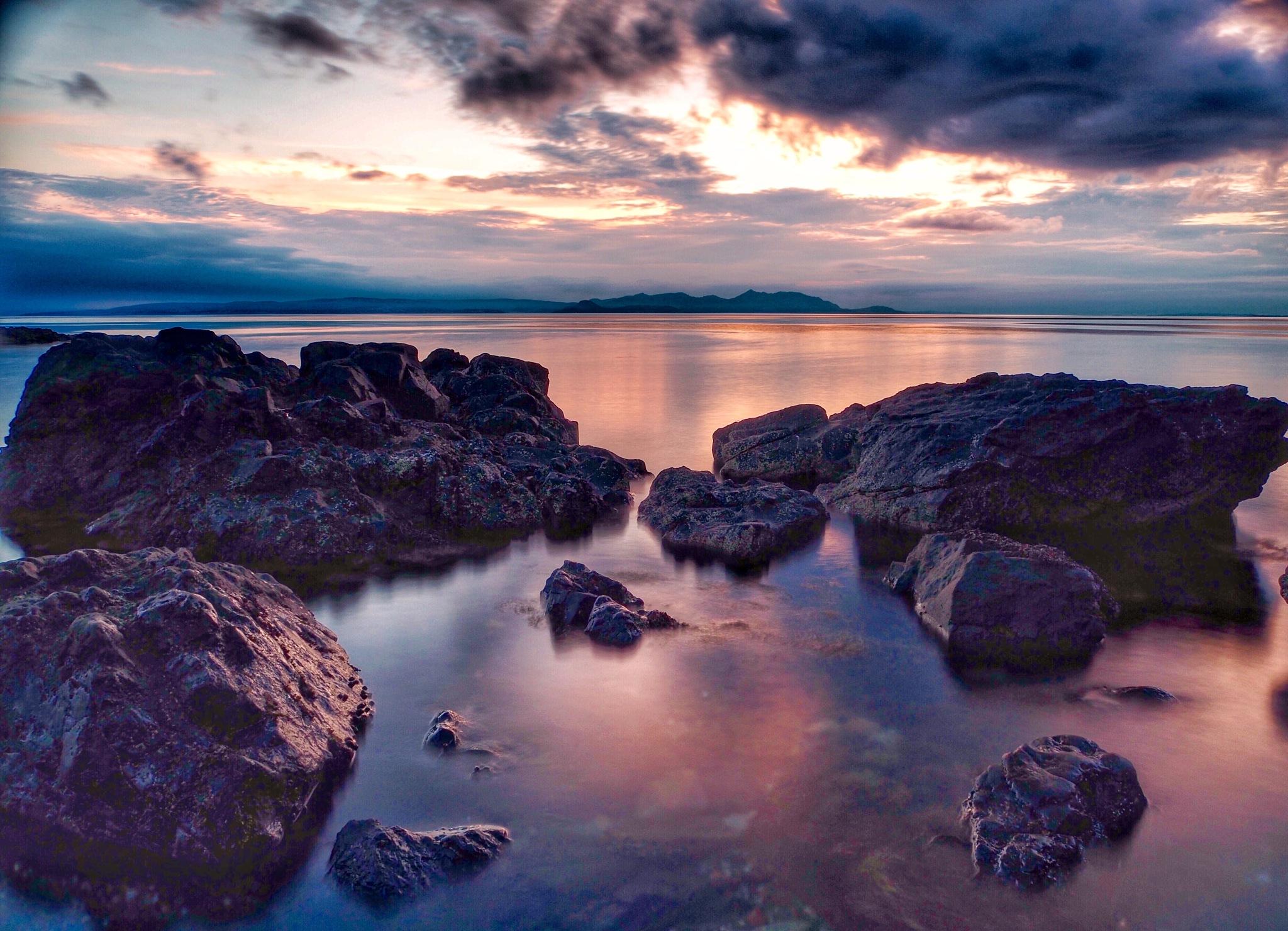 Dunure Scotland  by Stephen Miller