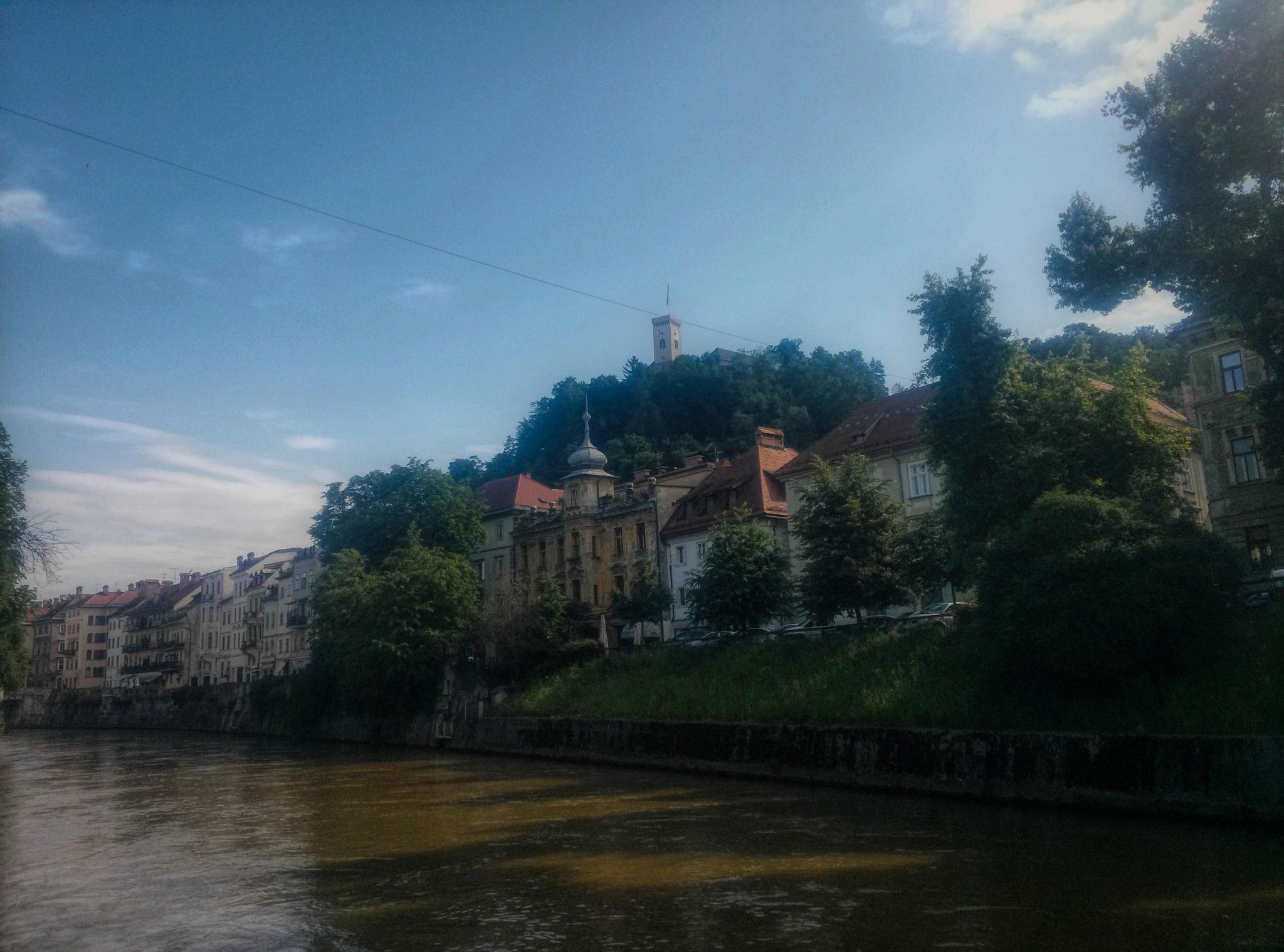 Ljubljana-old town by Maja Stein
