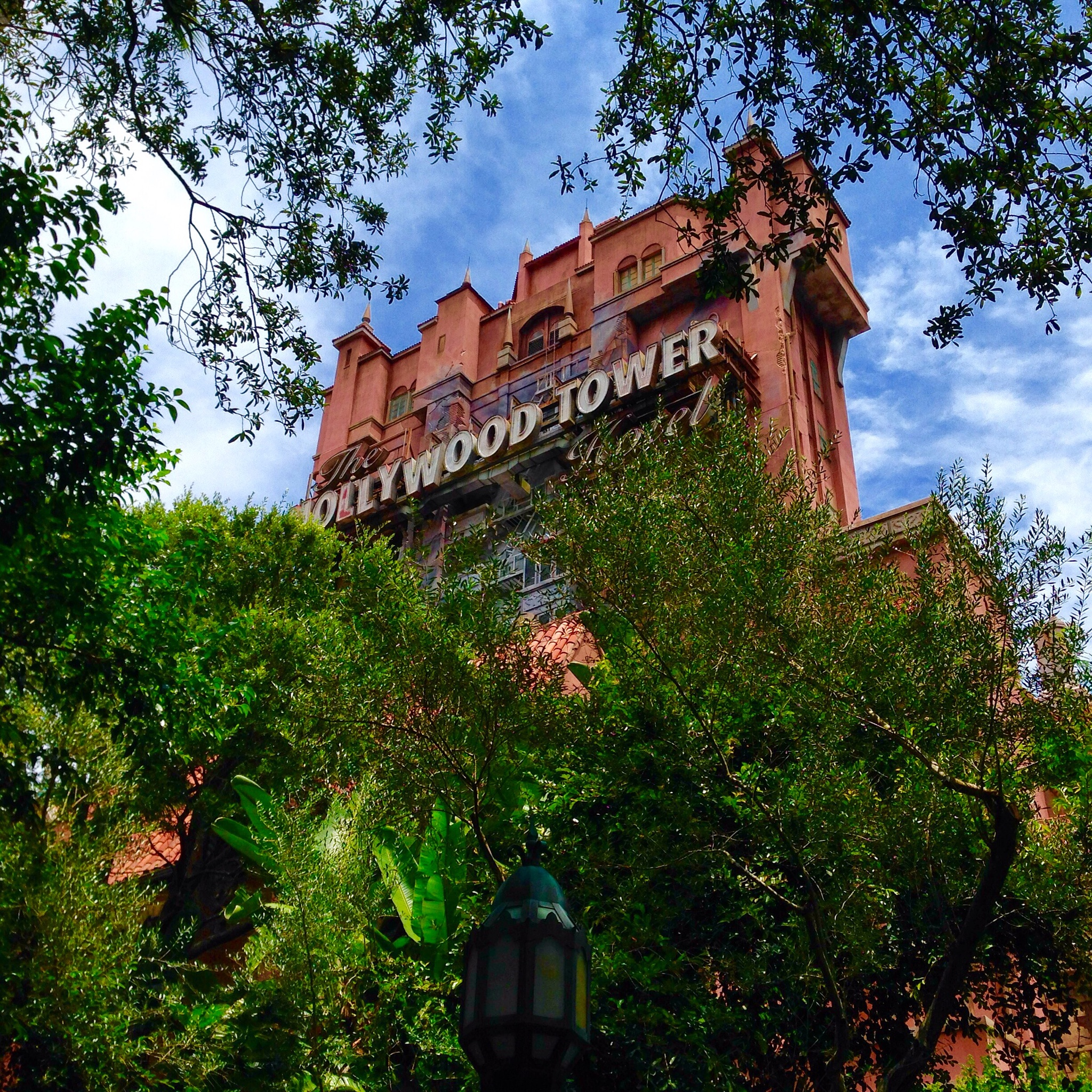 Hollywood Tower of Terror by Ed Fayette