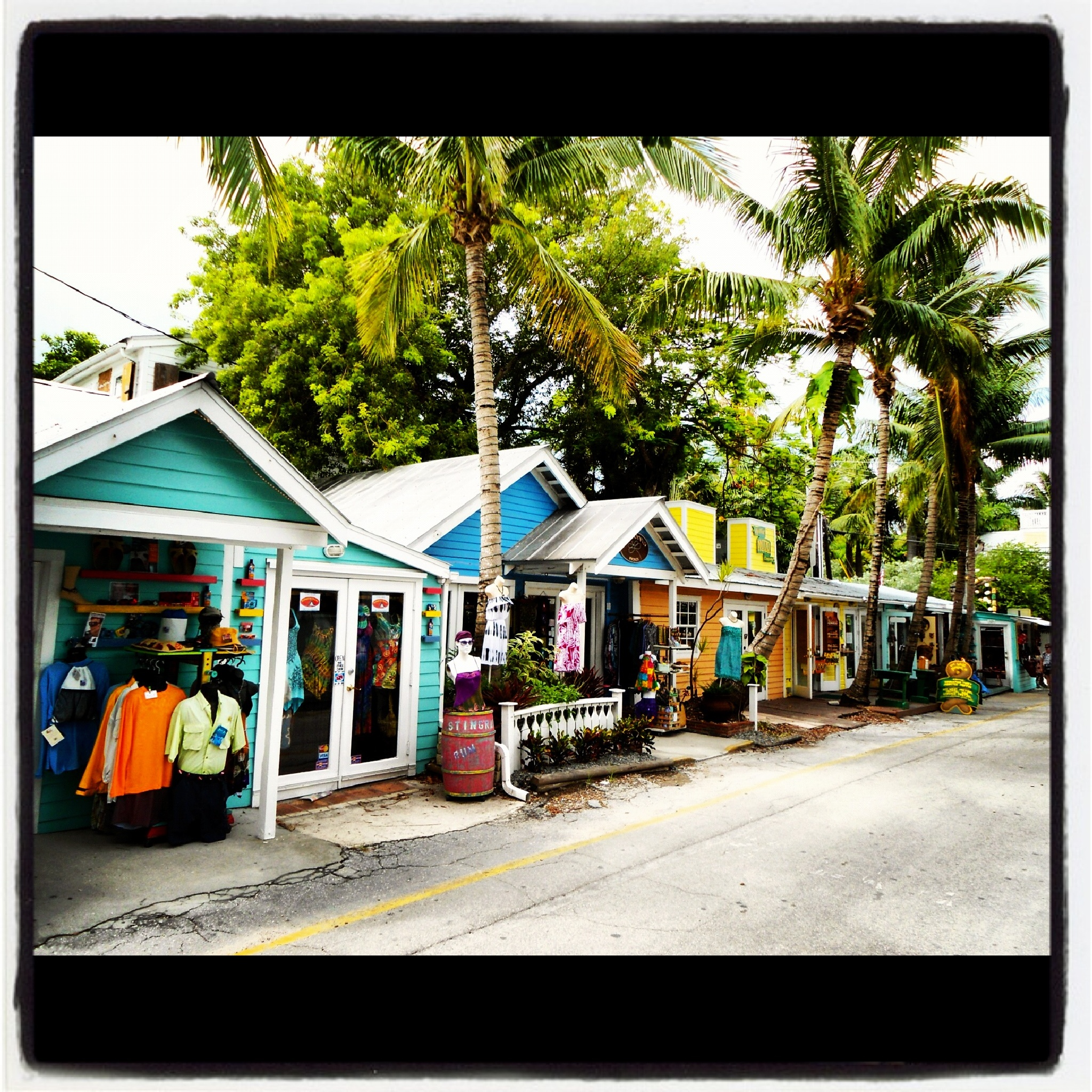 Village Shops by Ed Fayette