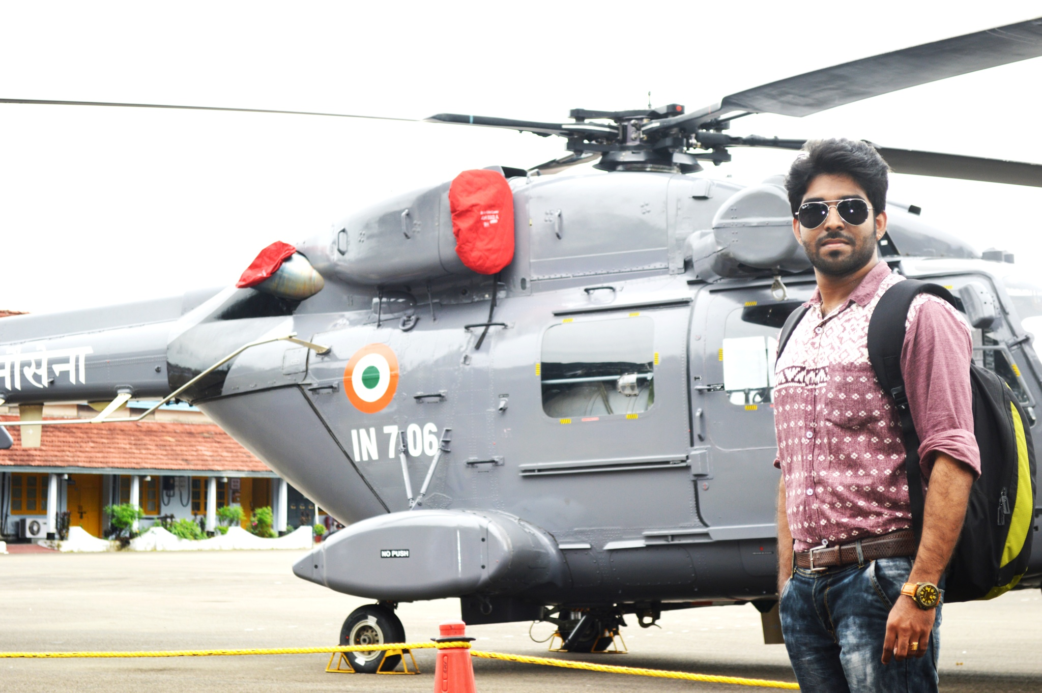 Me in Indian Navy by Syam Manohar Vm