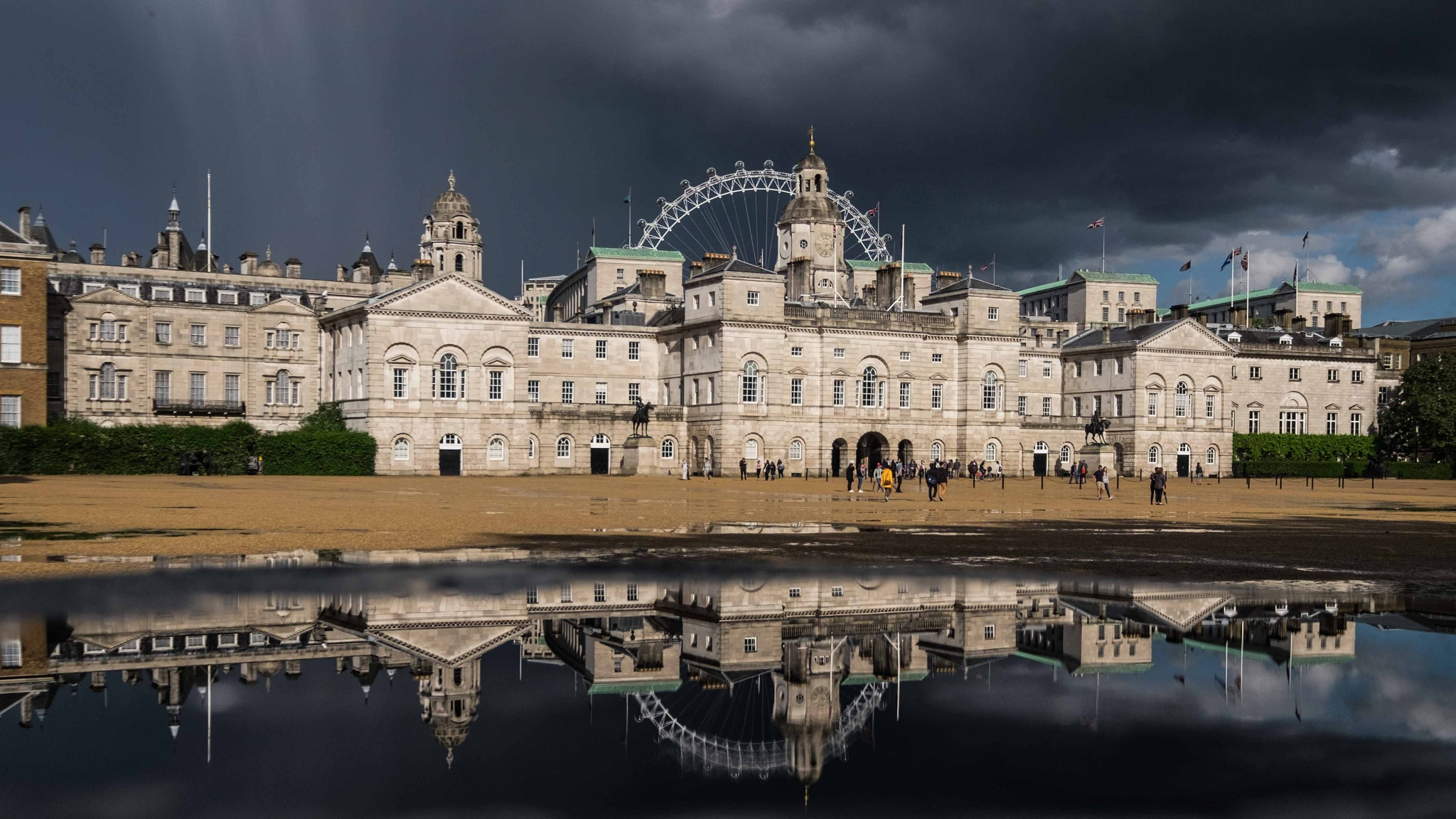 Horse Guards Parade ground. by Alan J Norris