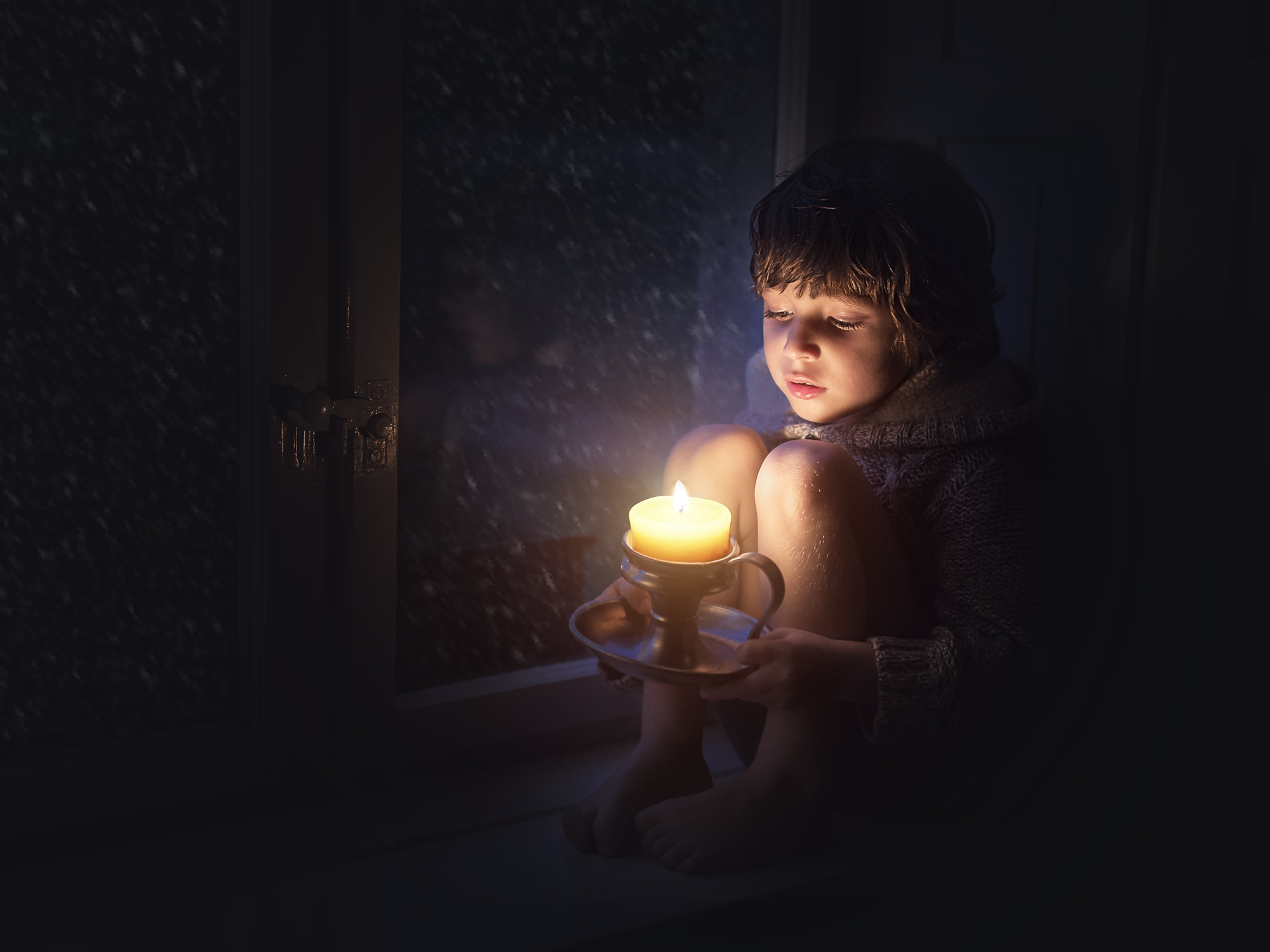 Waiting for Santa by Marlena Kasprzak