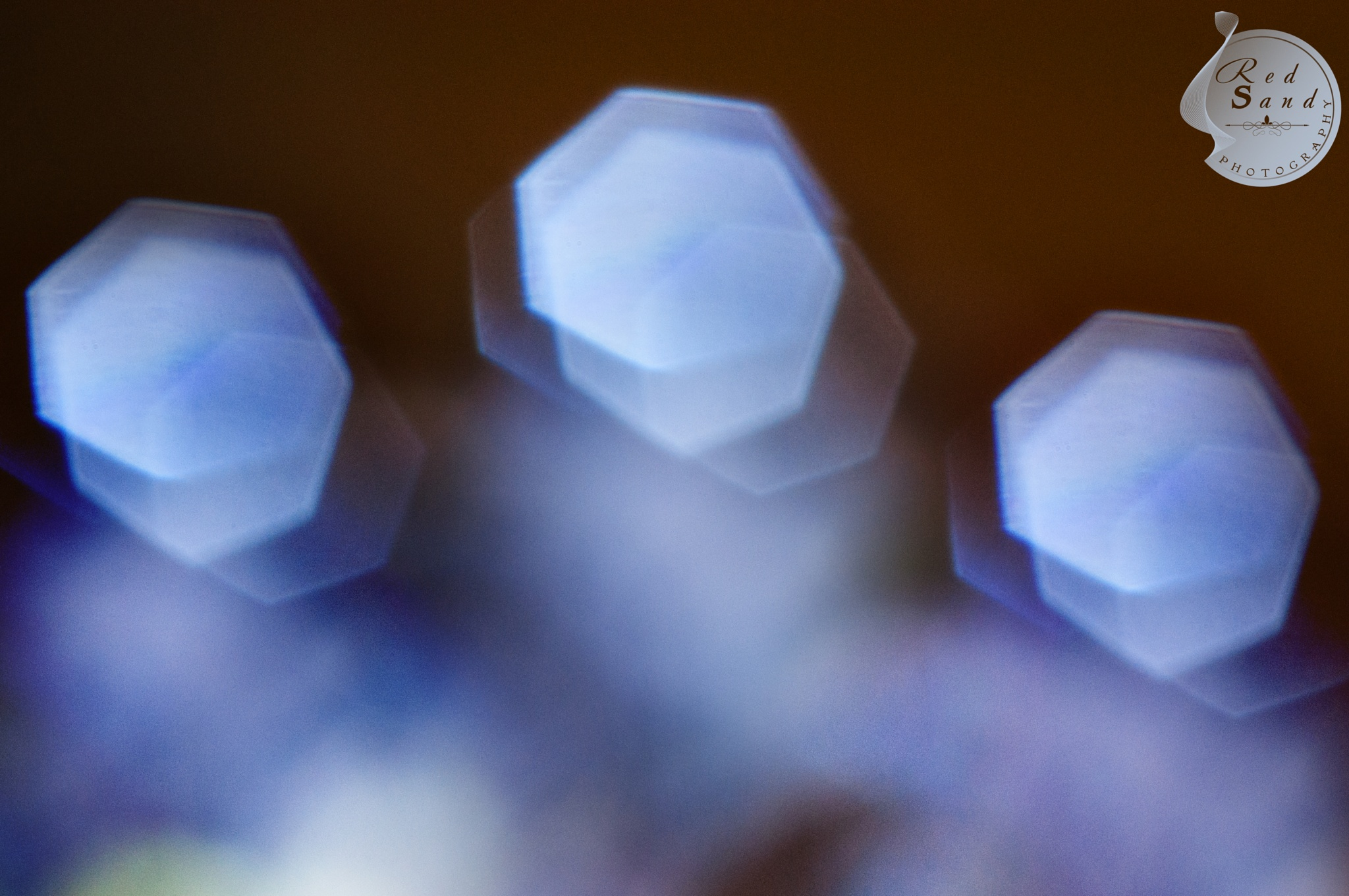 heptagon bokeh by Red Sand