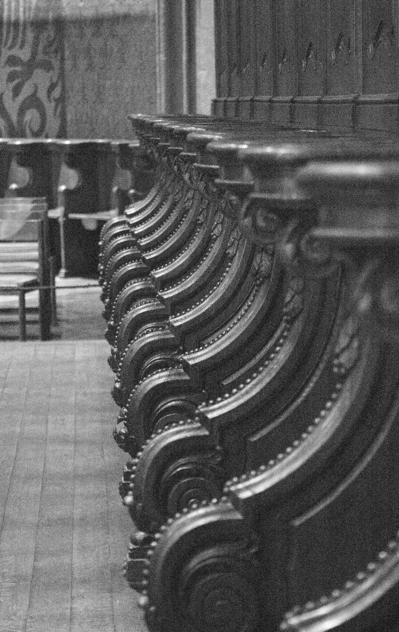 Church pews by ejk41