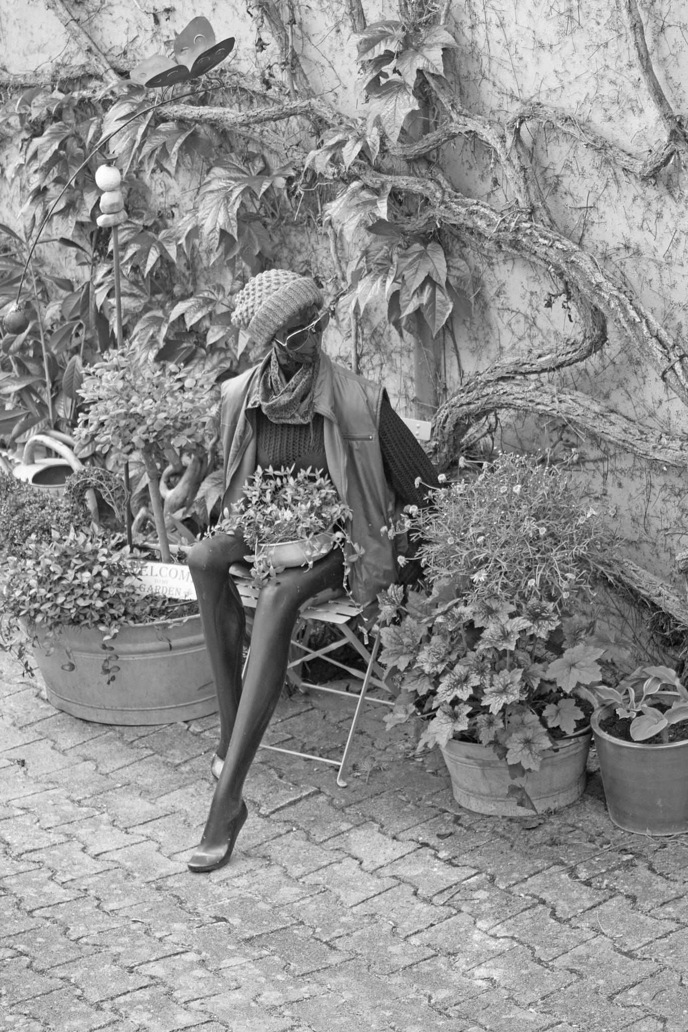 Garden Mannequin by ejk41