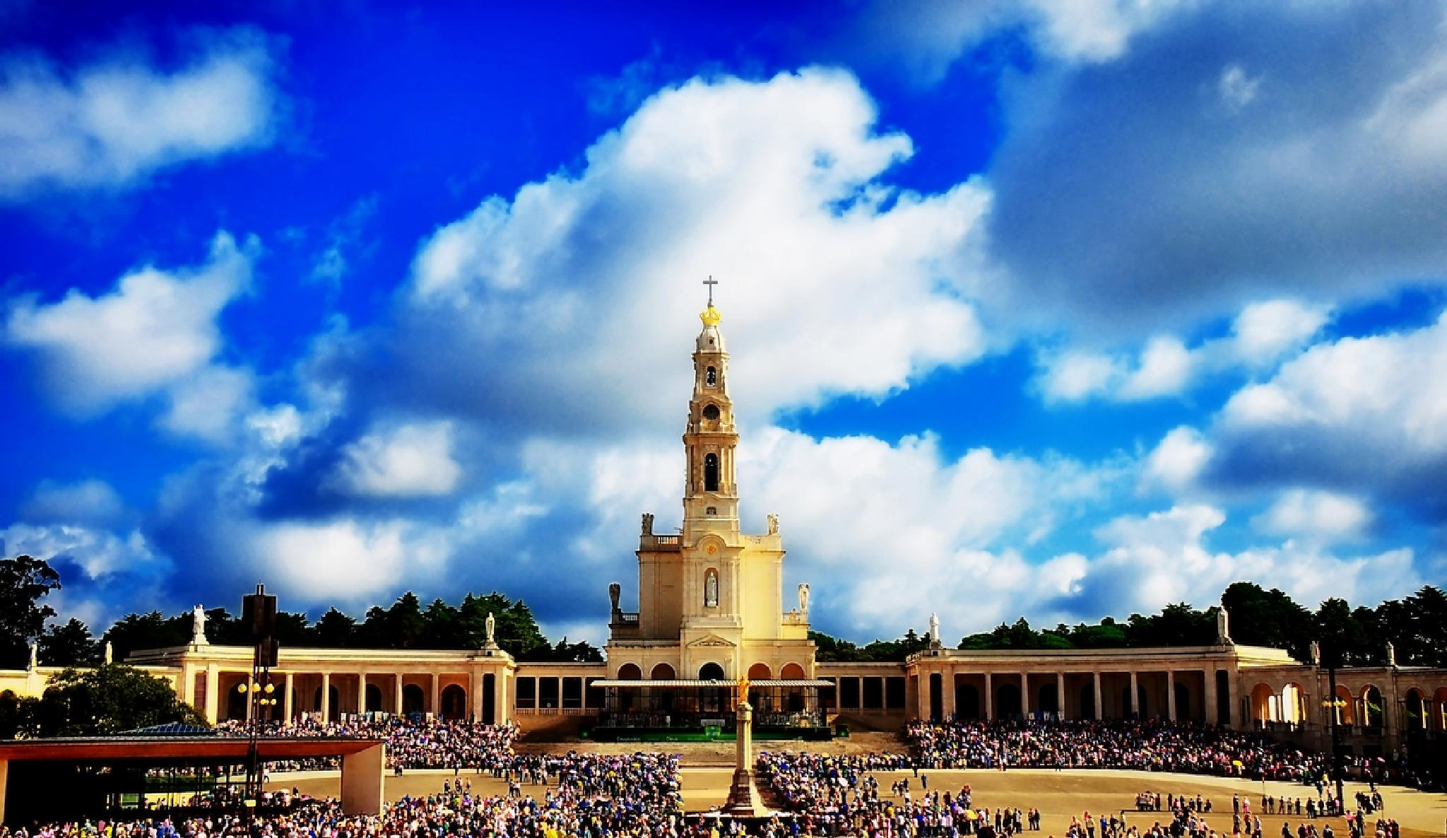 Photo in Architecture #nikon #fatima #portugal #religion
