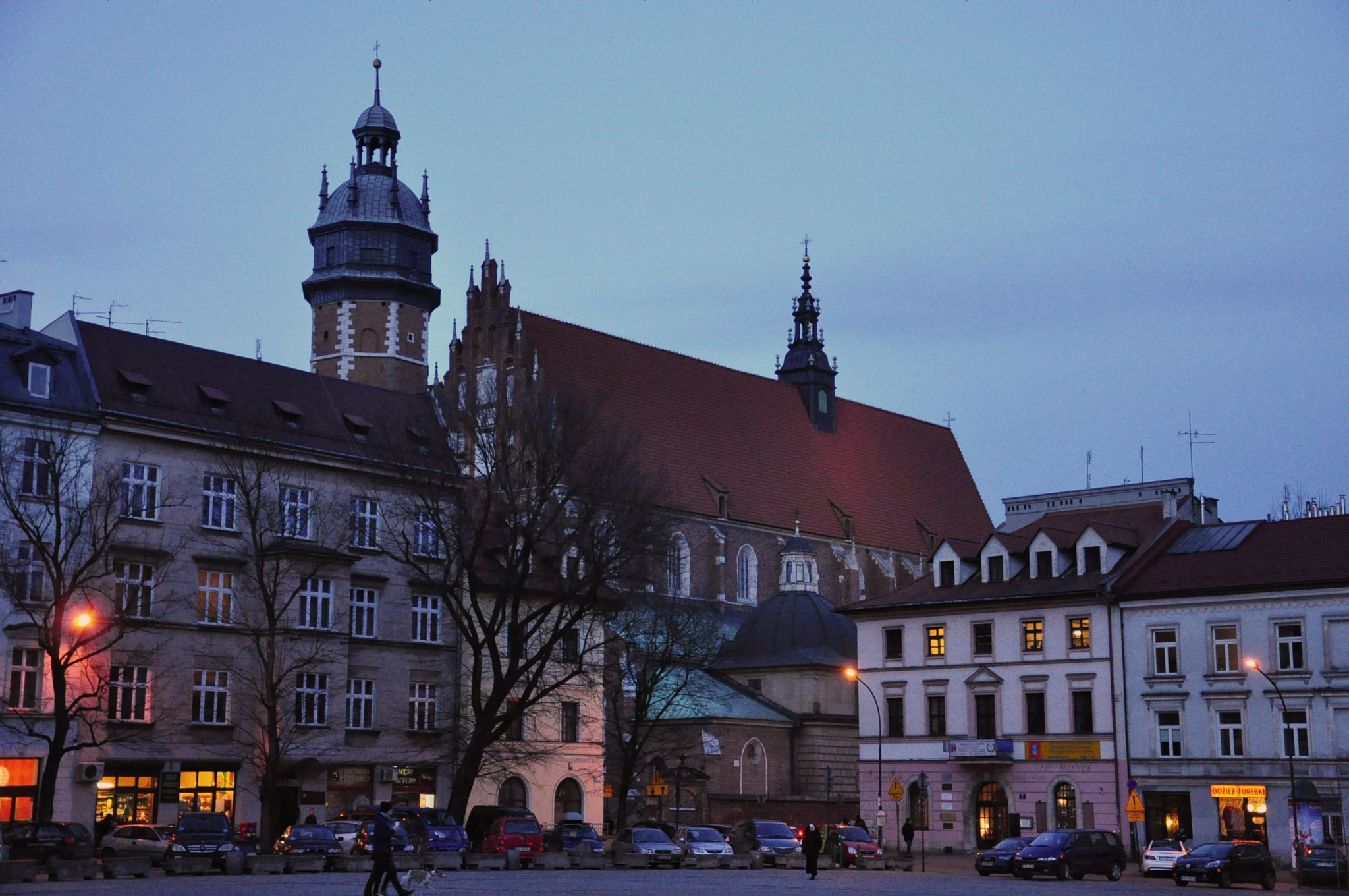 Wolnica Square in Cracow  by Ali Bahceli