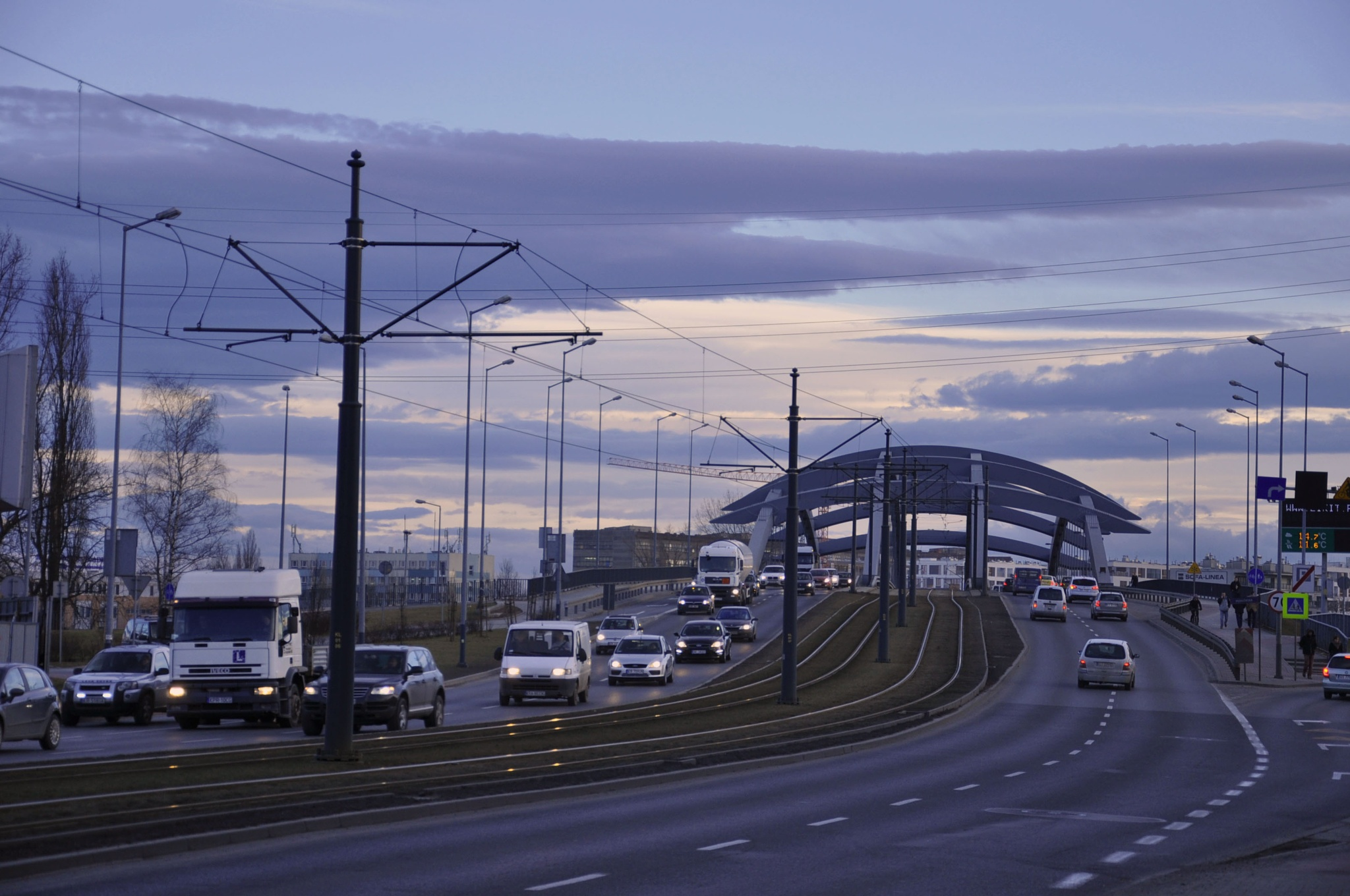 The Bridge in Cracow by Ali Bahceli