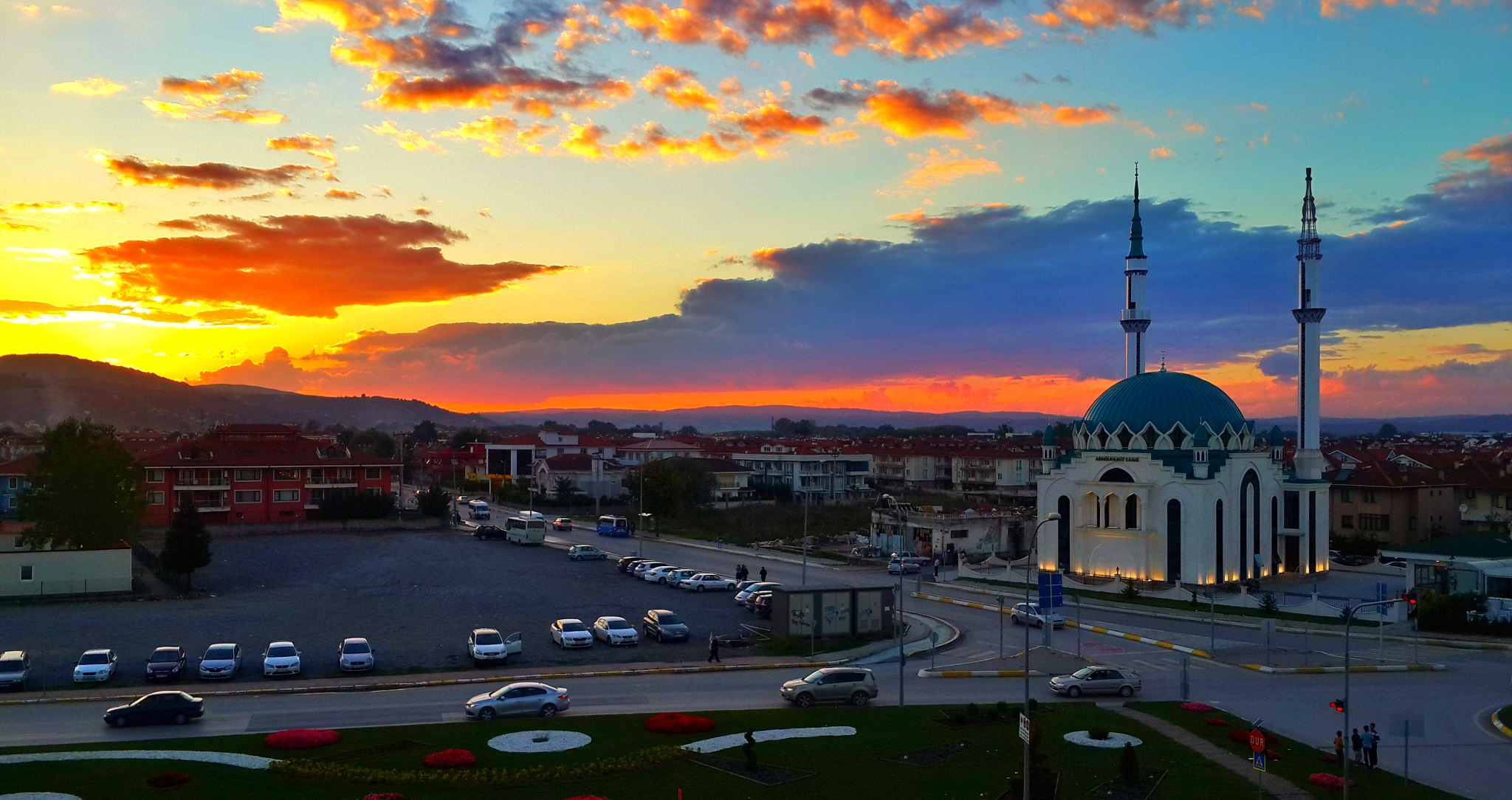 sunset by Abdullah Alani