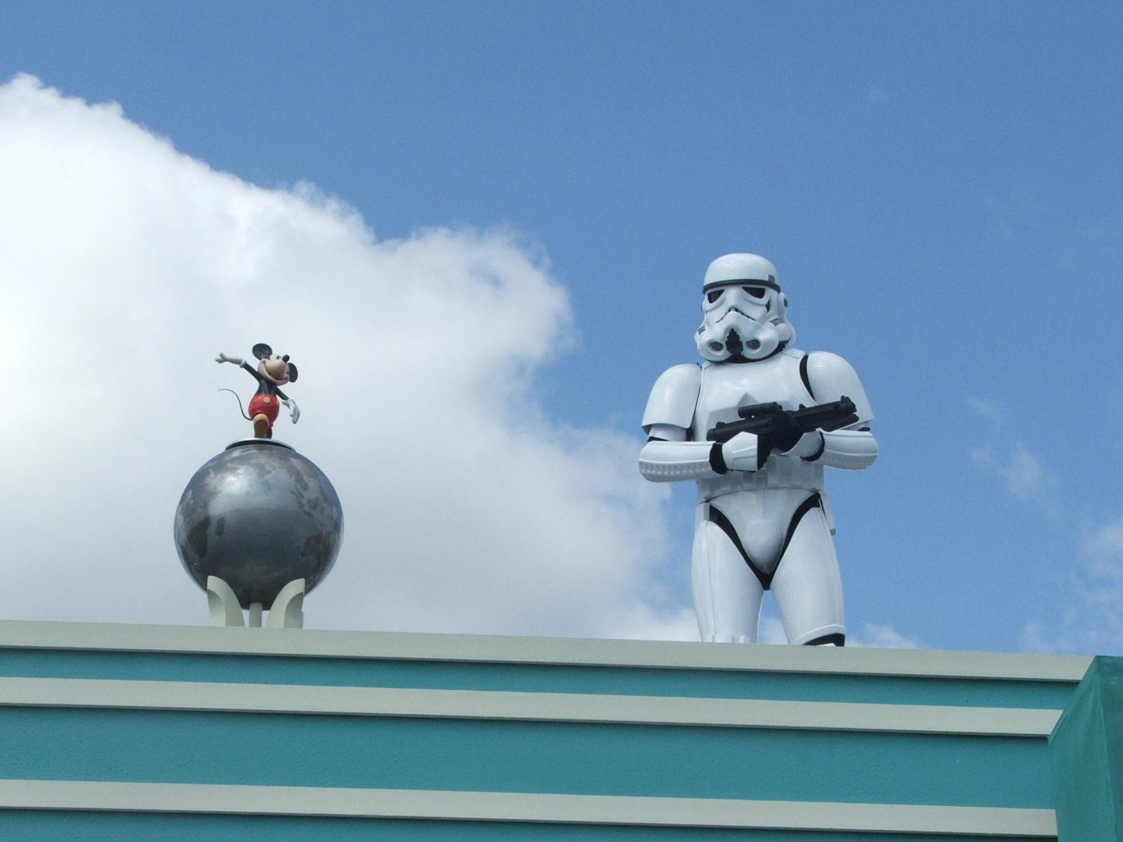 Stormtrooper at Disney by F J Bering