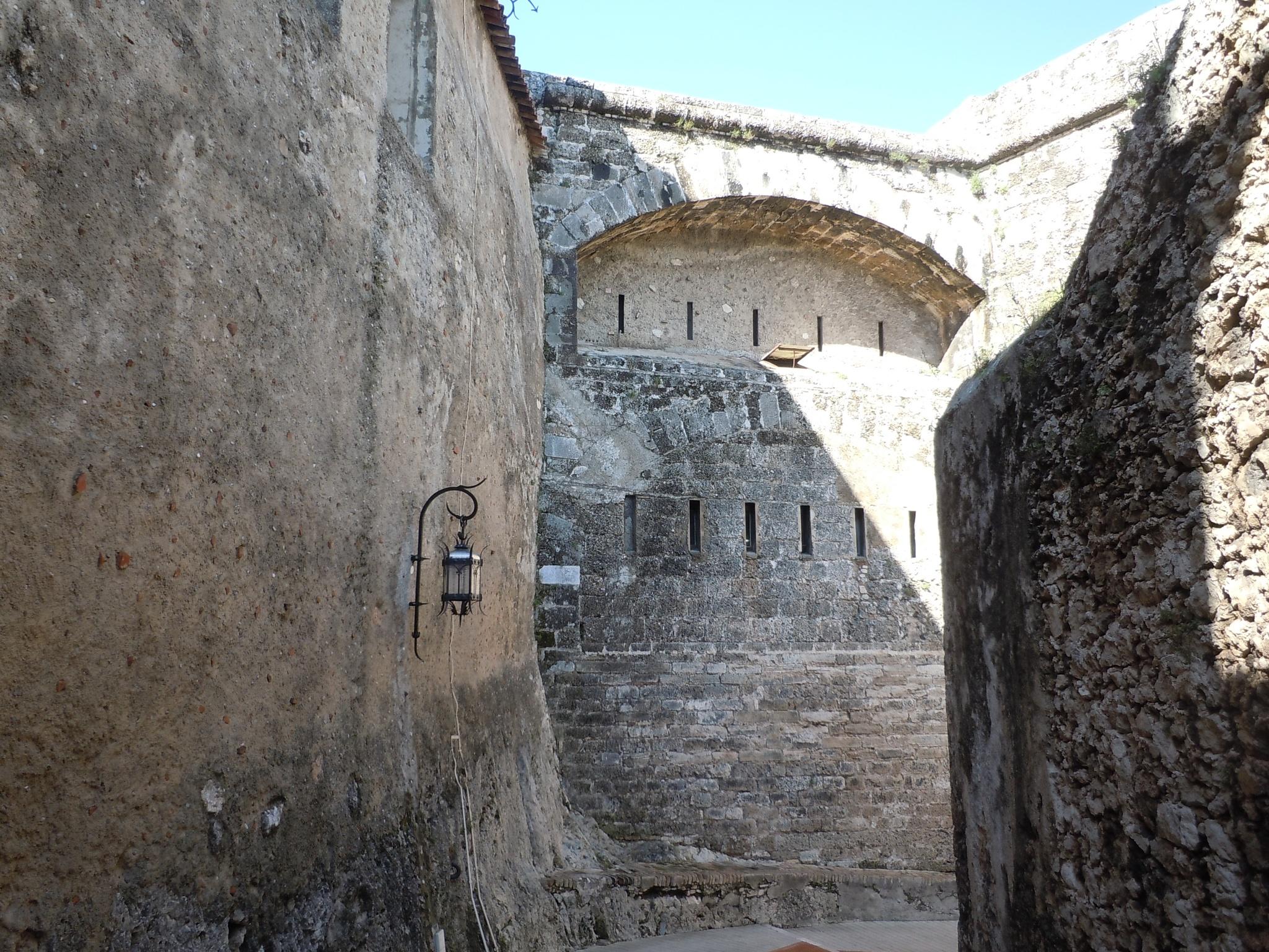 Fortress walls by F J Bering
