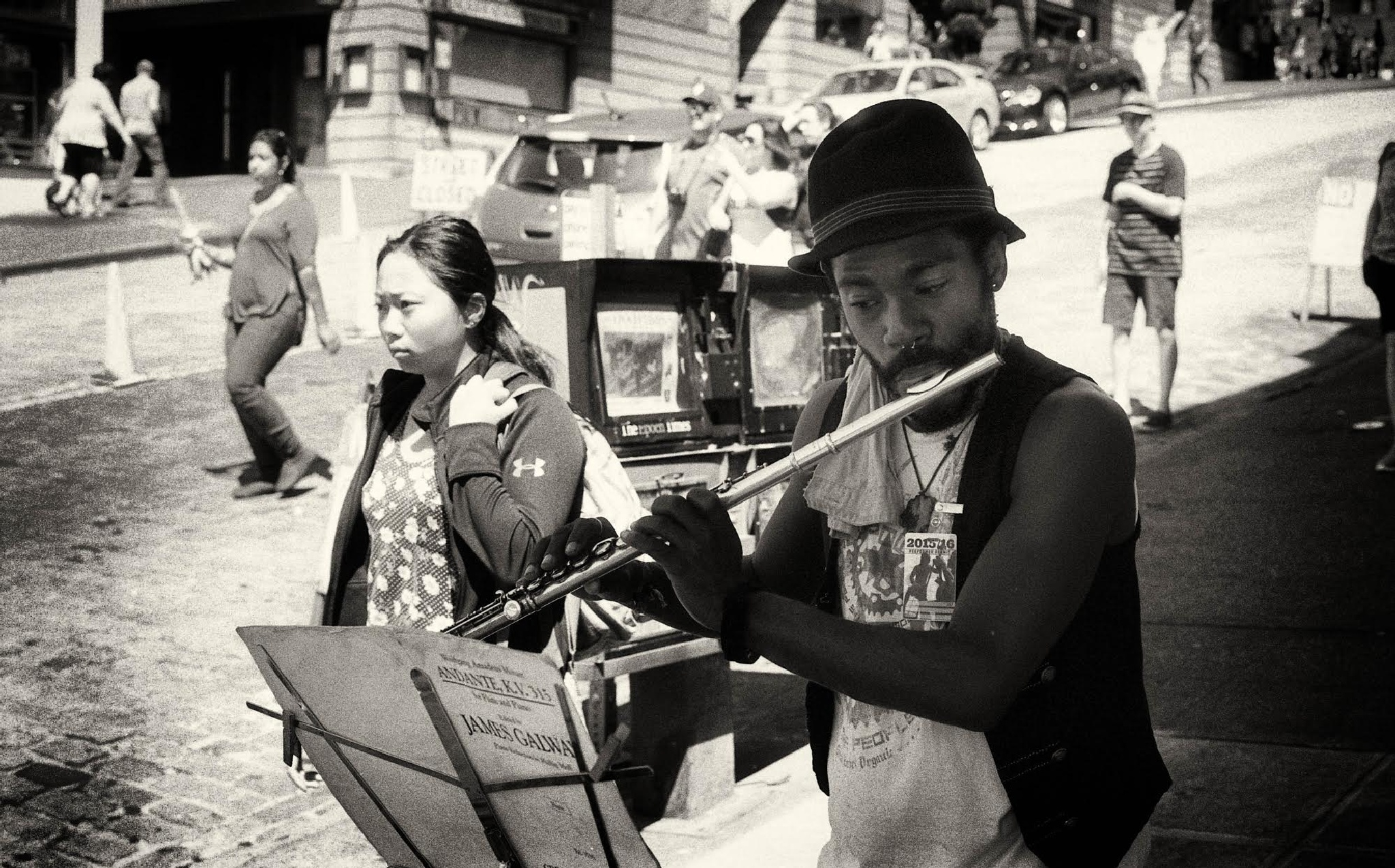 Music on the Streets by Bernhard Uhl
