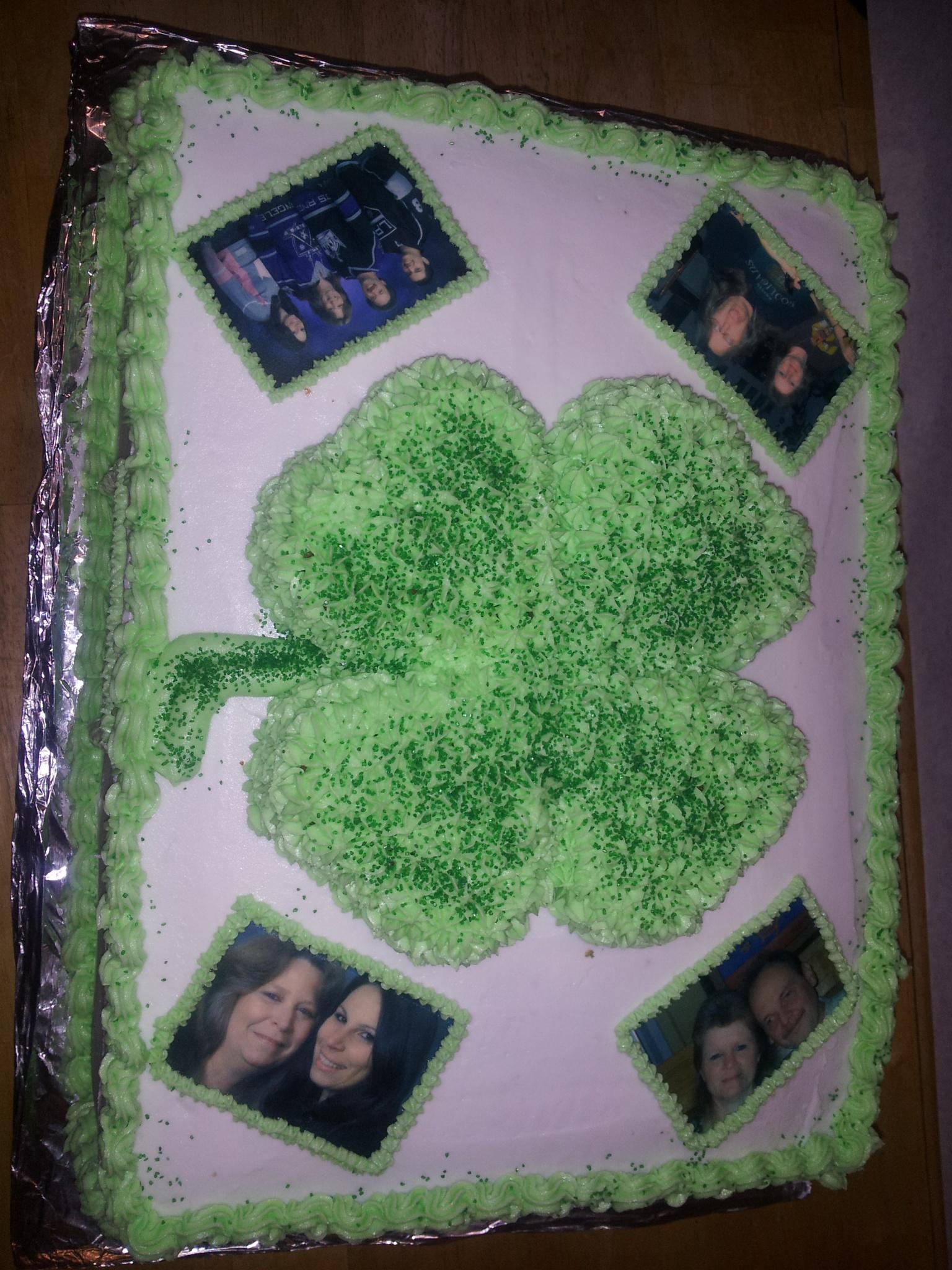 St.Patty's Birthday cake by Susie Price Williams