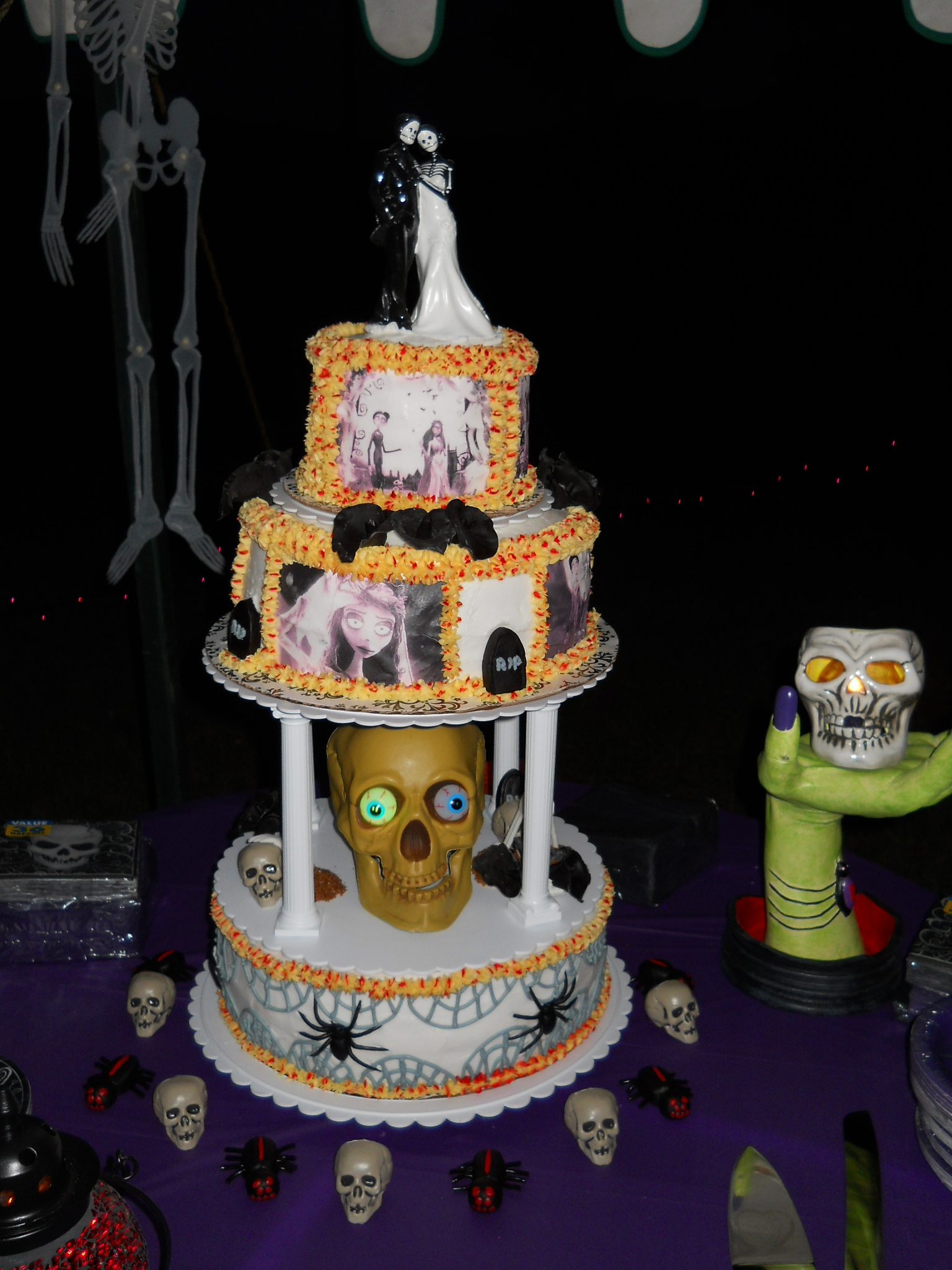 Halloween Wedding Cake by Susie Price Williams