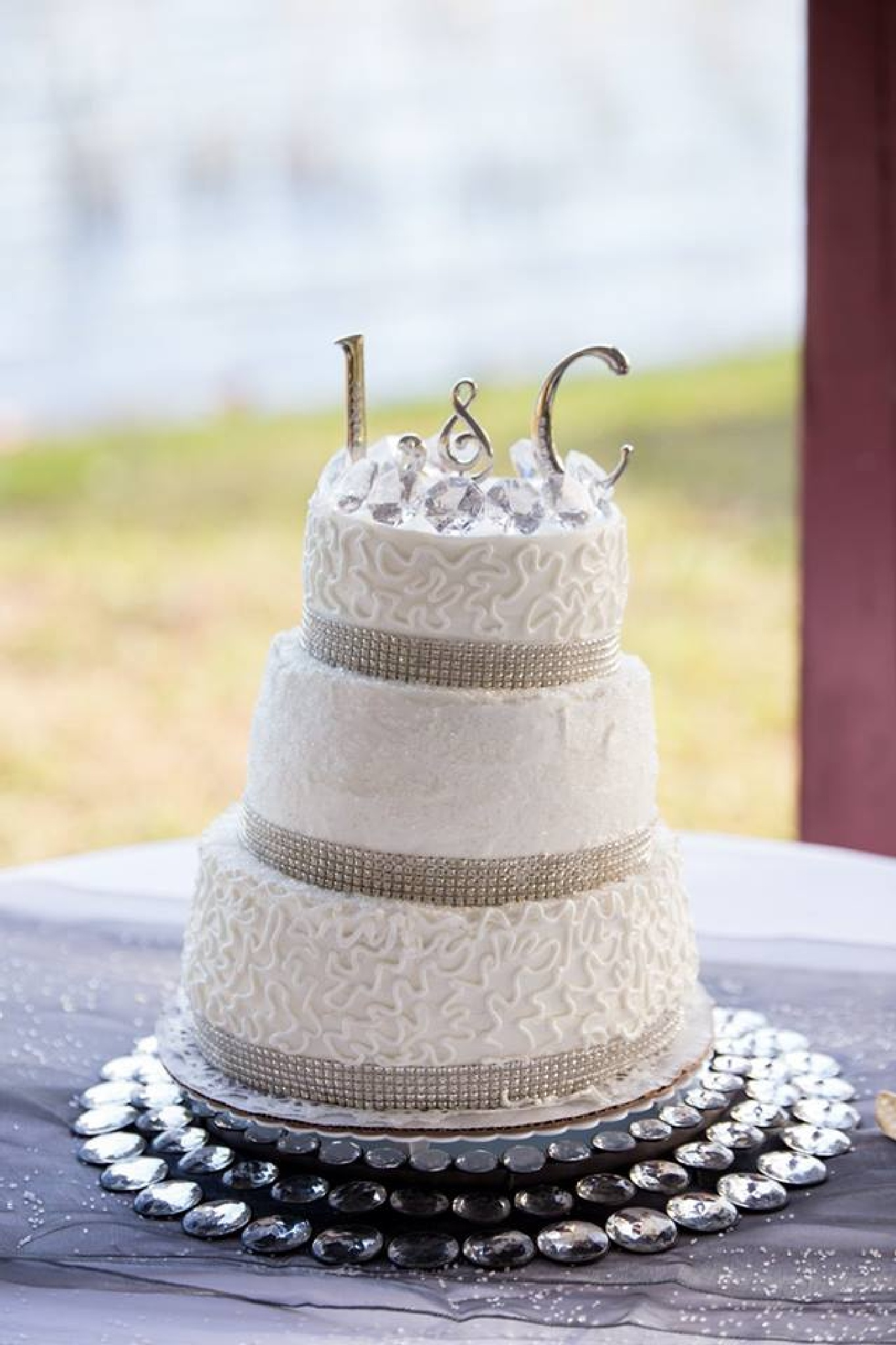 Lisa and Carl's wedding Cake by Susie Price Williams