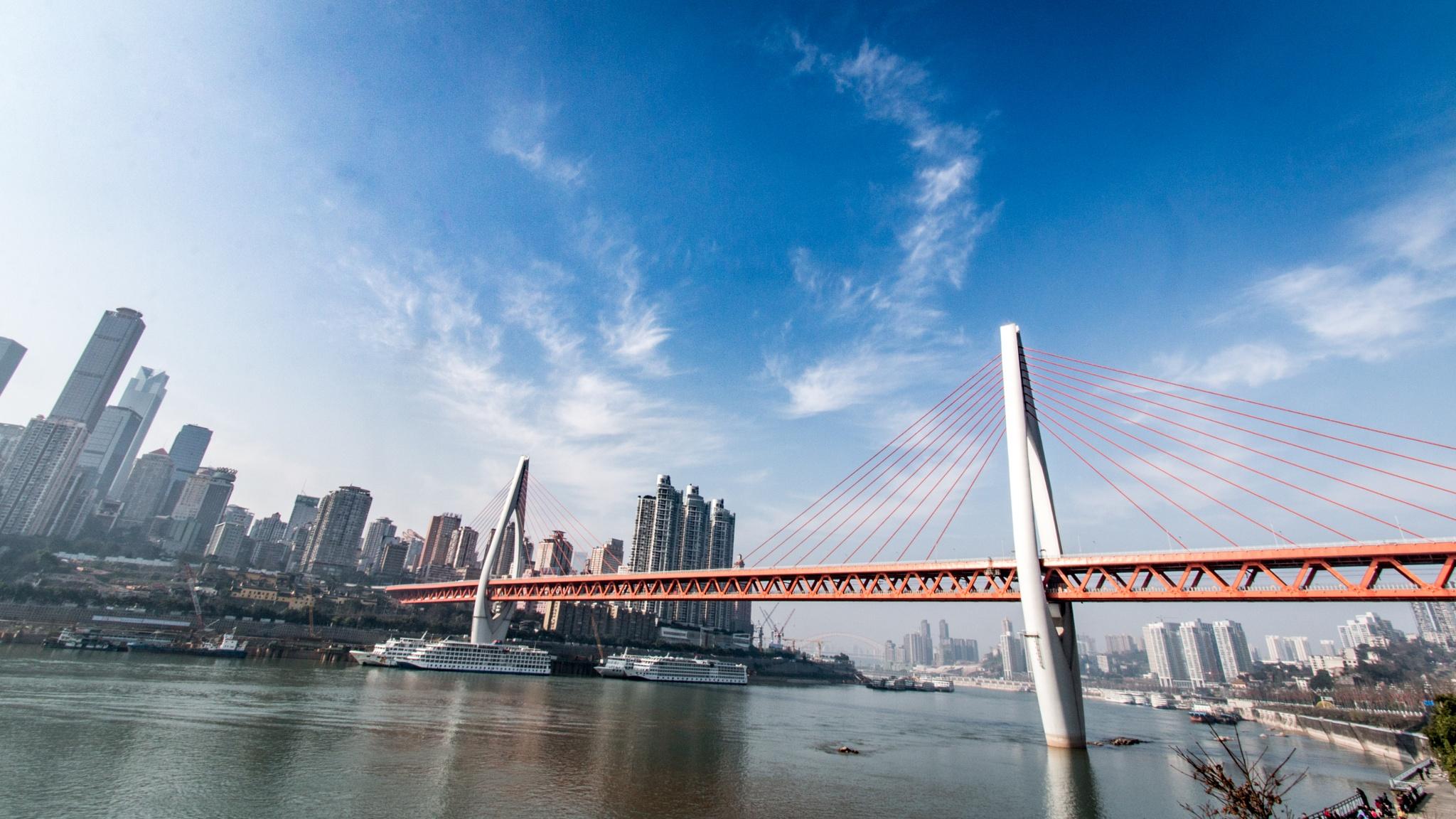 Chongqing City II by Mikkel Stig Larsen