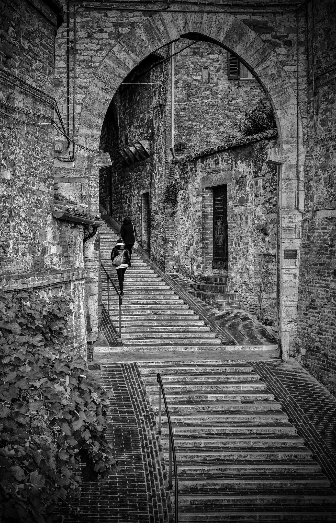 On street Perugia by Luca Loppi