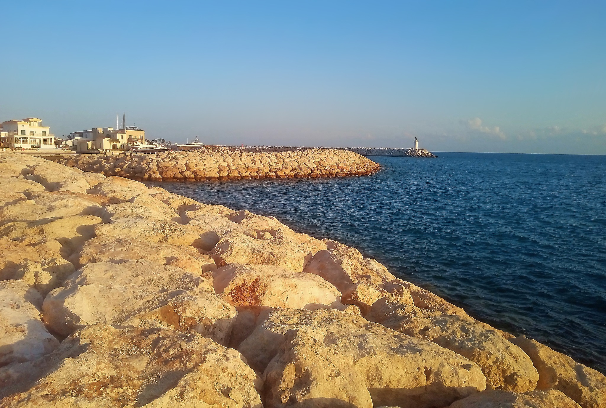 Lighthouse of Limassol by Robert R.