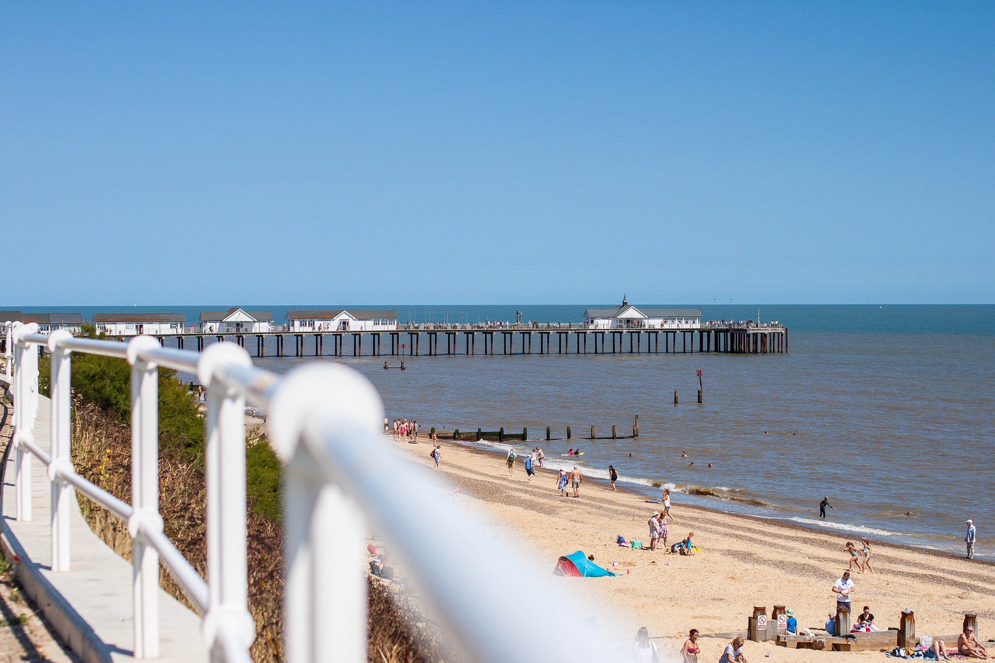 Southwold Pier by Andy McLellan