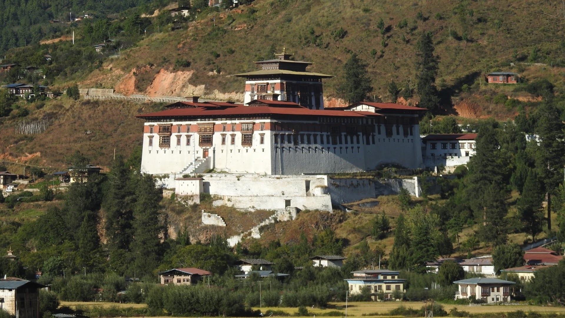 Rinpung Dzong, Bhutan by Aristoteles Kono