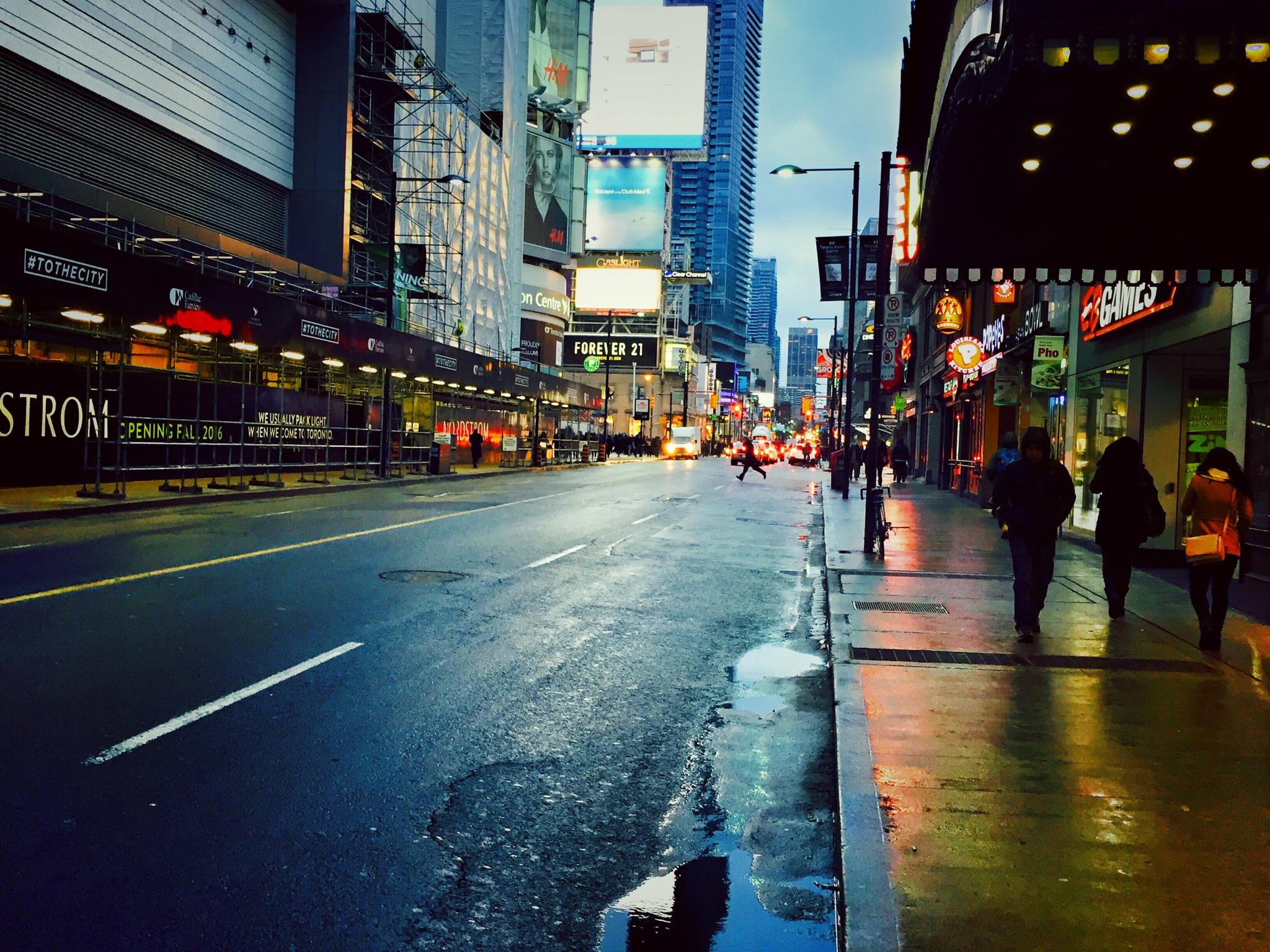 Toronto Downtown  by OmranOo Elgallal