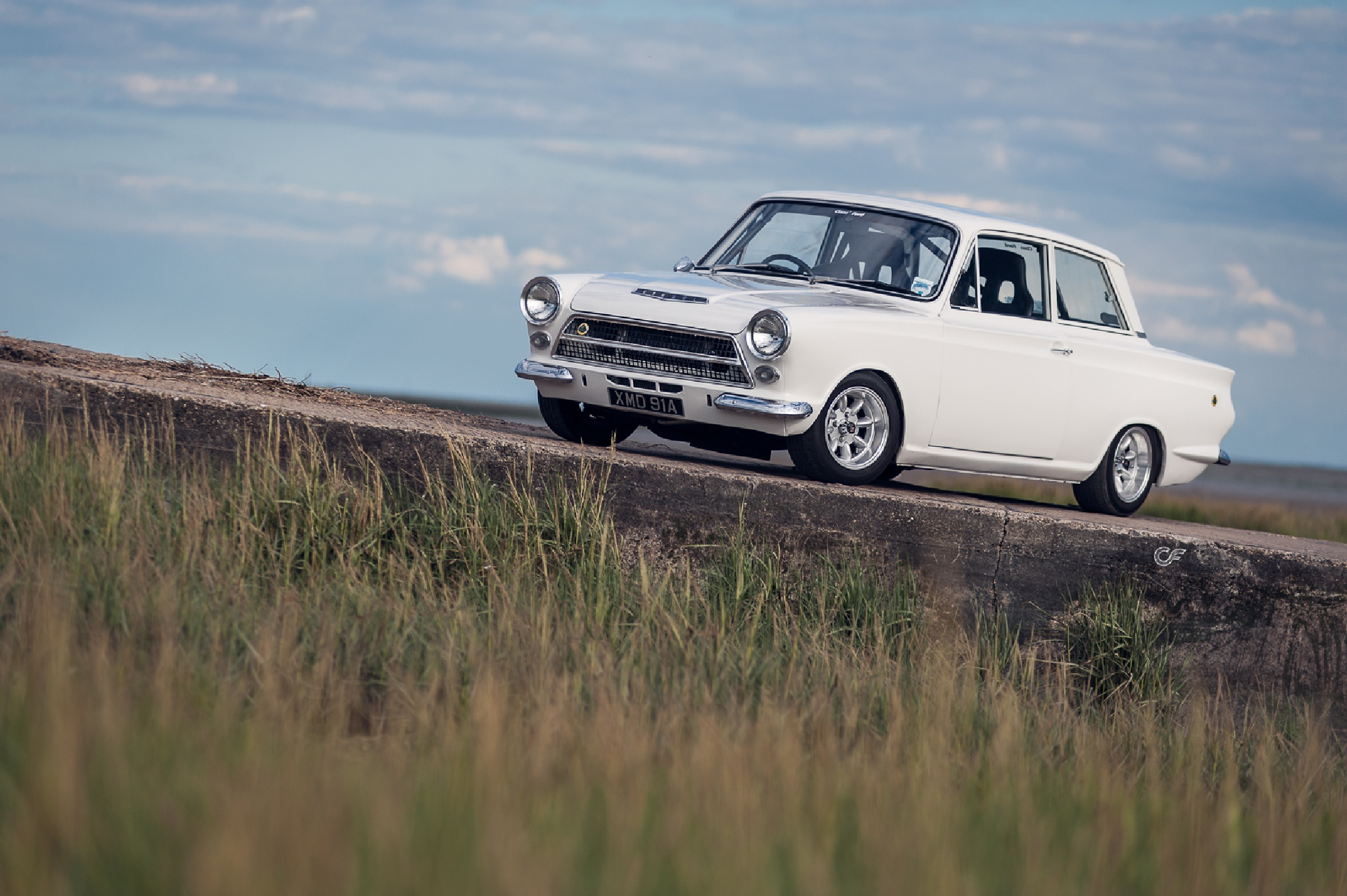 Ford Cortina by Chris Frosin