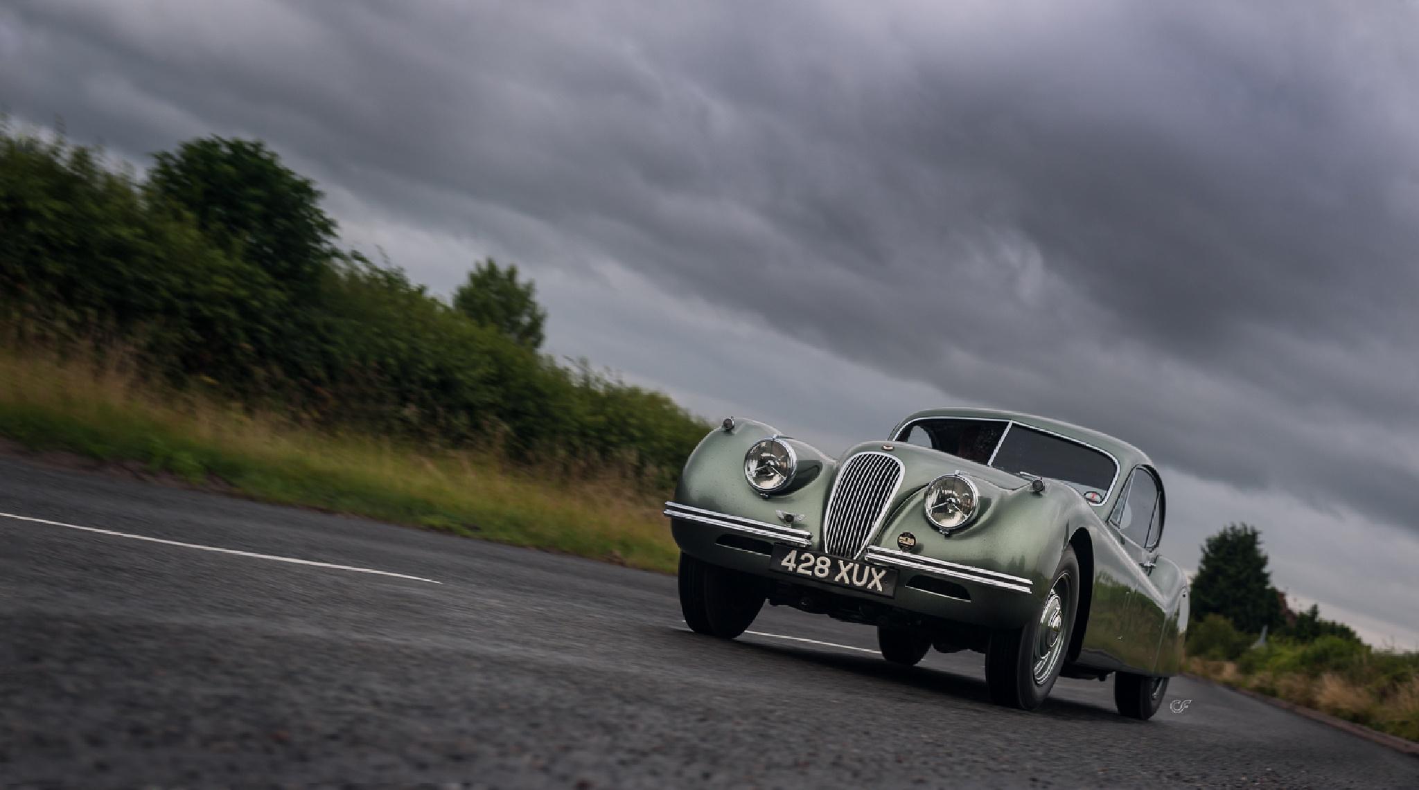 Jaguar XK120 by Chris Frosin
