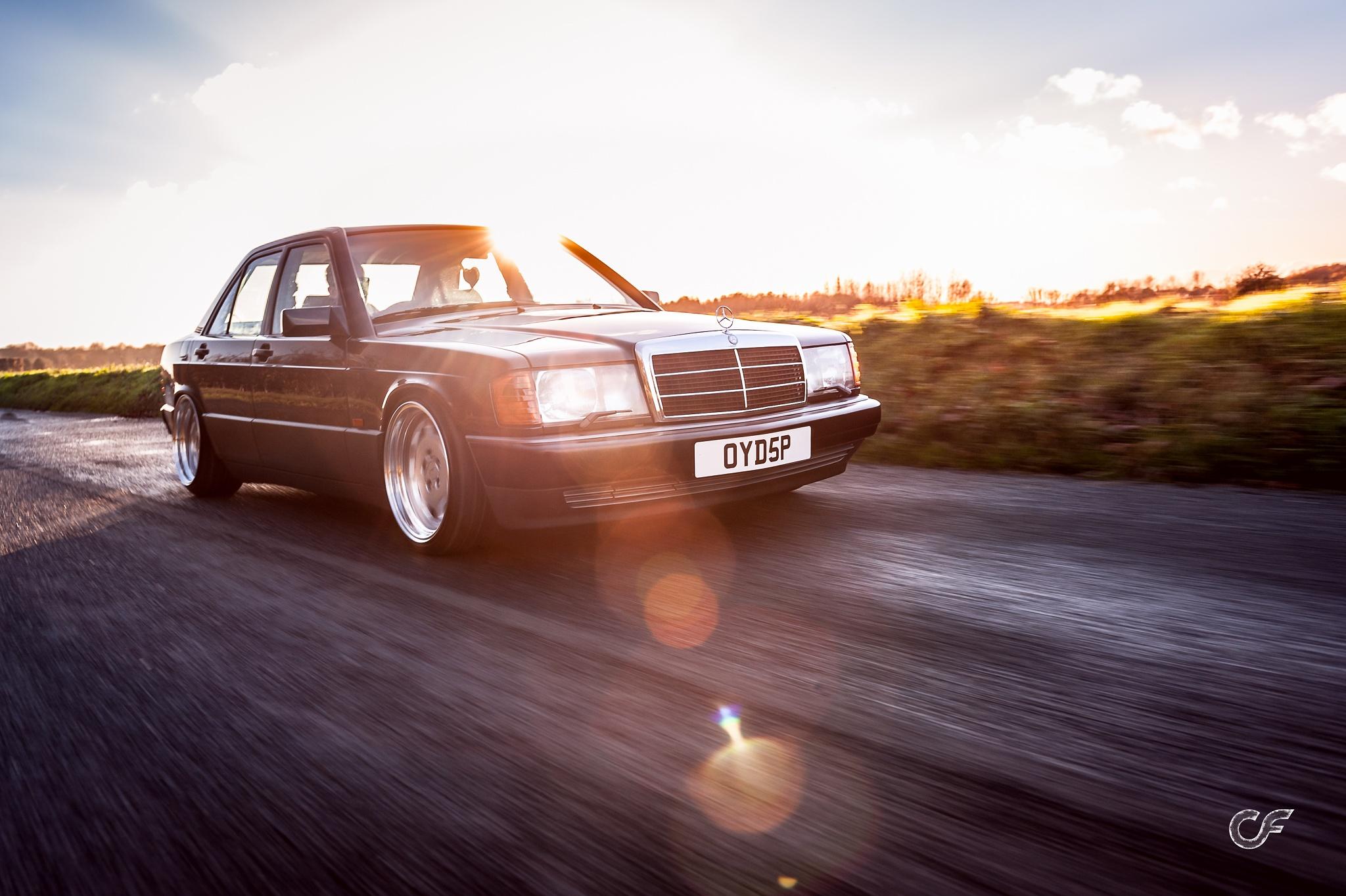 Mercedes 190E by Chris Frosin
