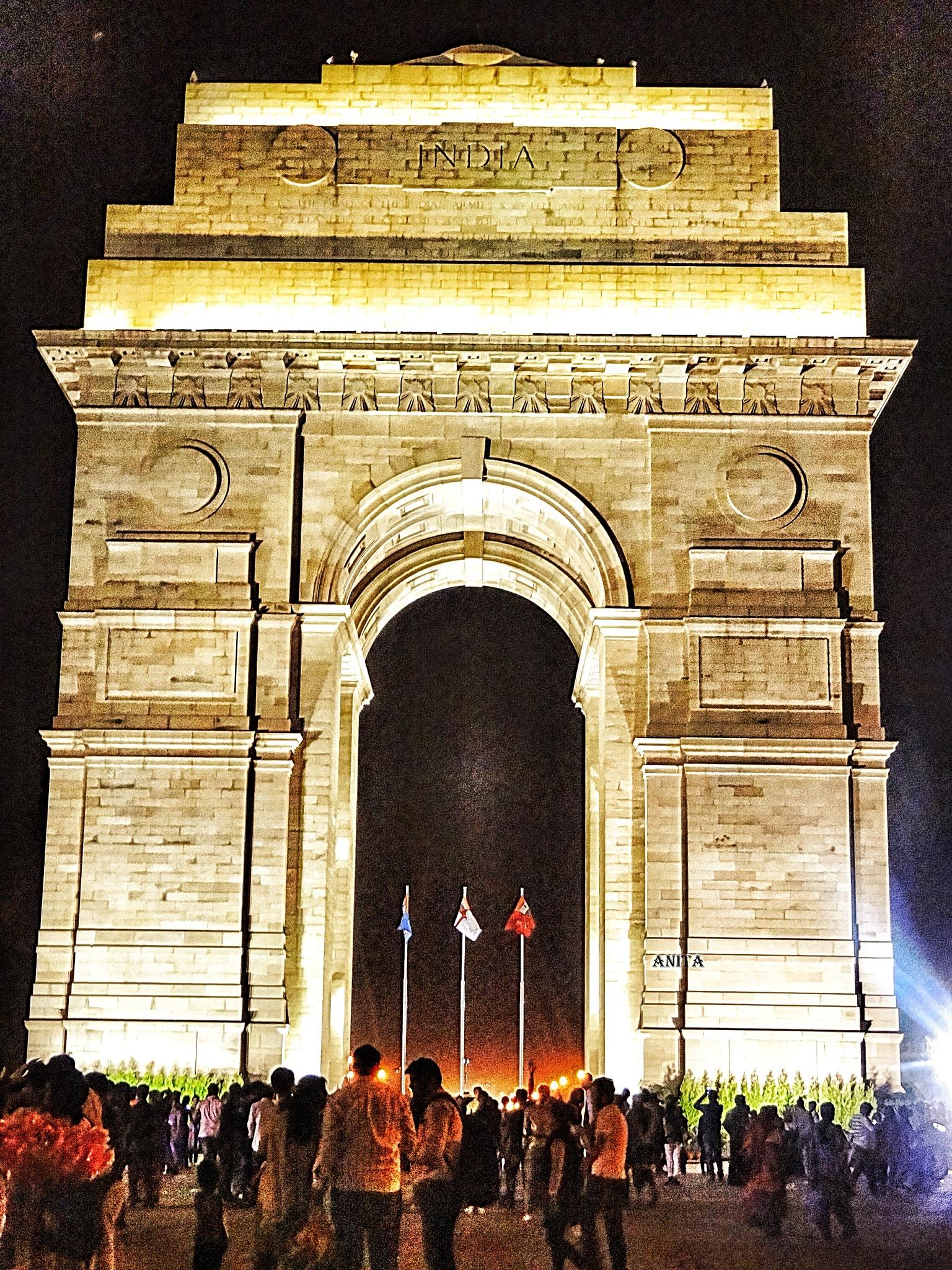 INDIA GATE  by Anita Solanki
