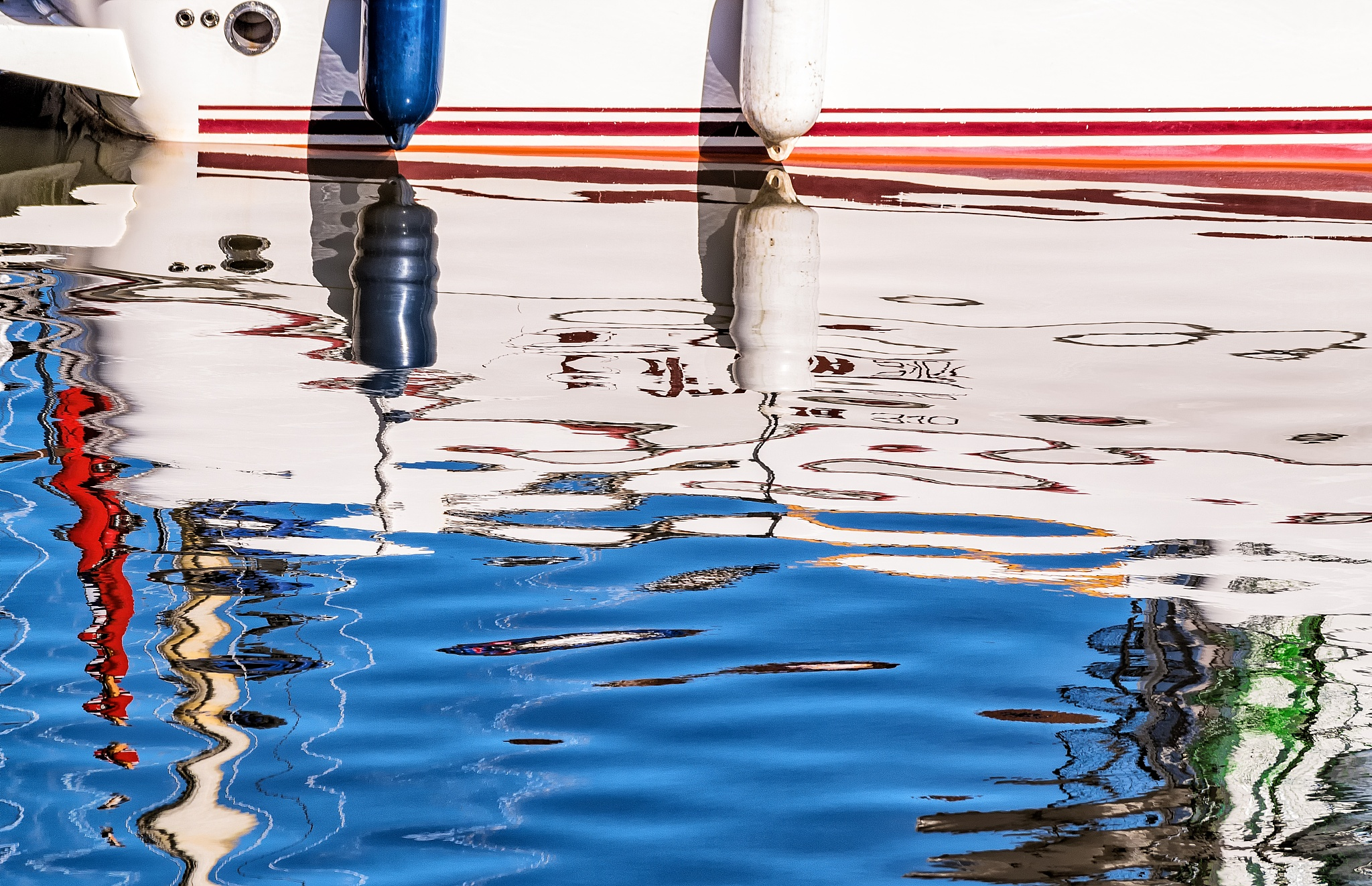 Abstract Reflections  by Robin Taylor