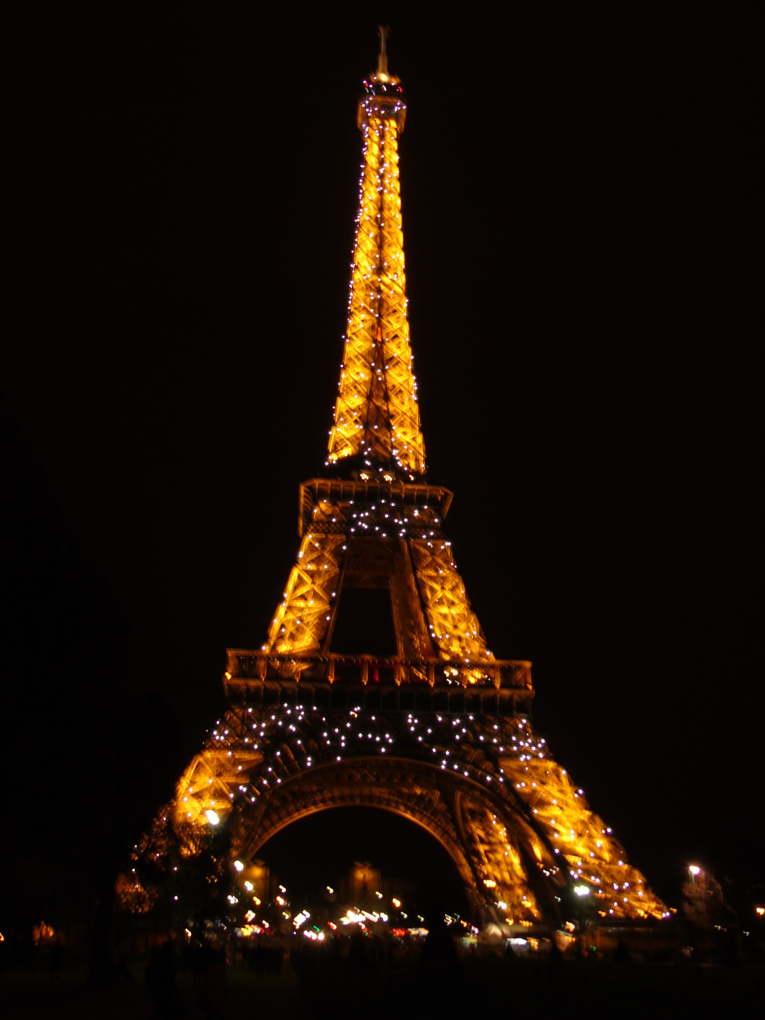 Photo in Travel #eiffel #tower #france #paris #the eiffel tower #building #structure #night #lighting