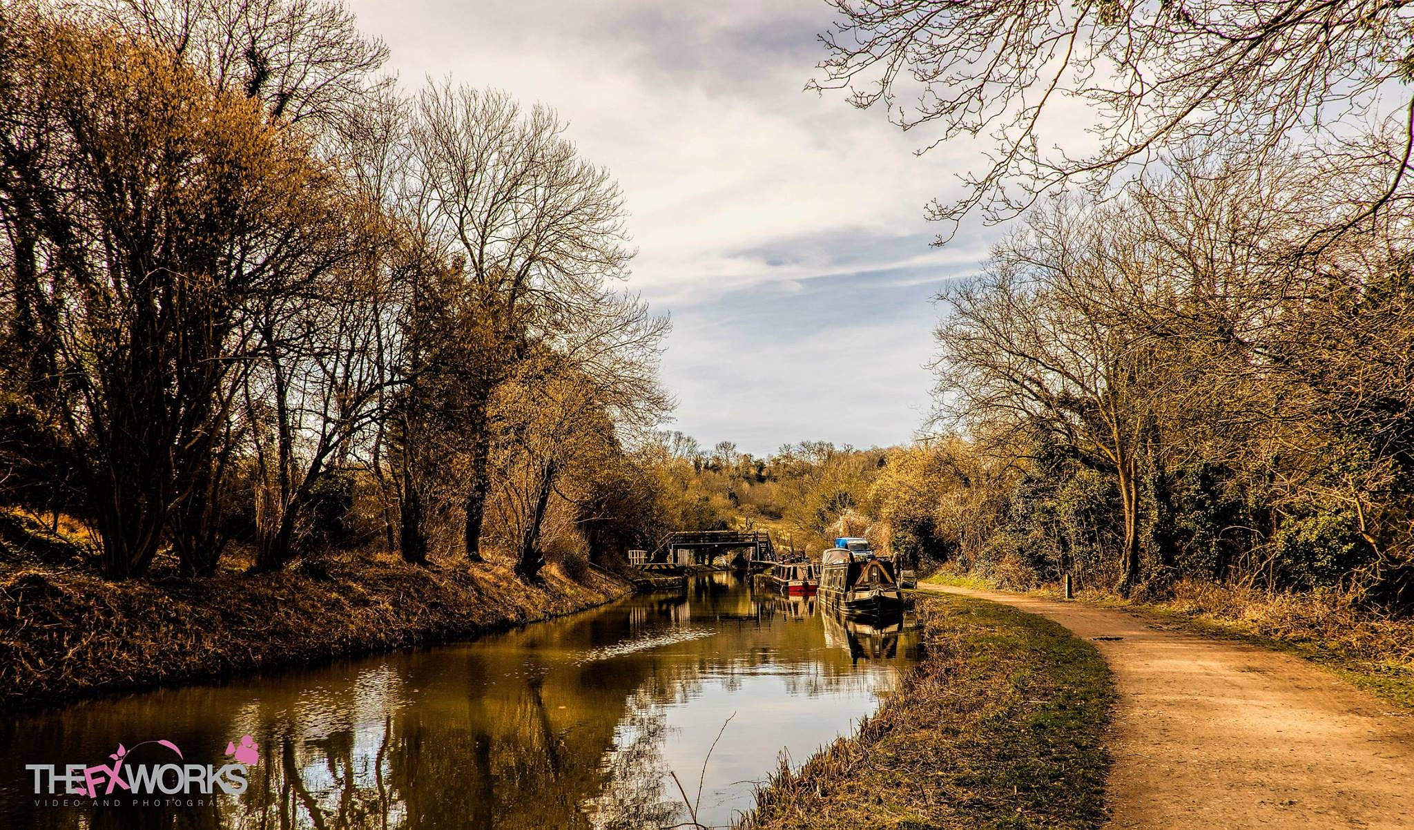 kenett and Avon canal - www.thefxworks.co.uk by Michael Jeremy