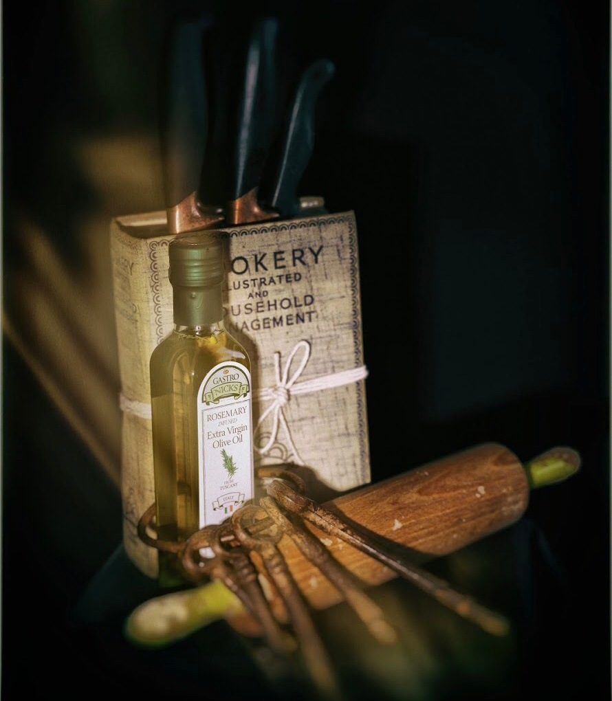 Olive oil  by Michael Jeremy