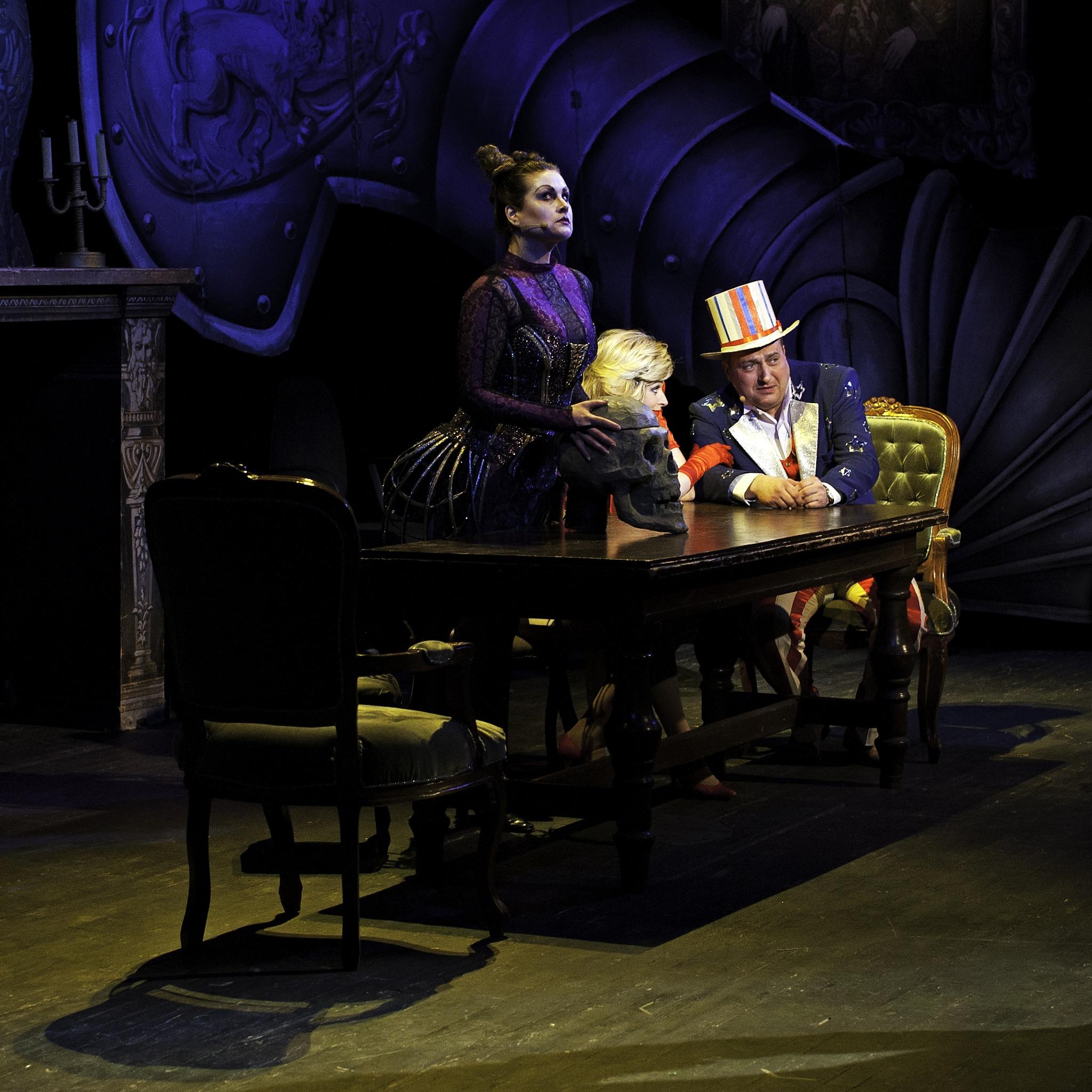 Theater backstage by Sasha Mirov