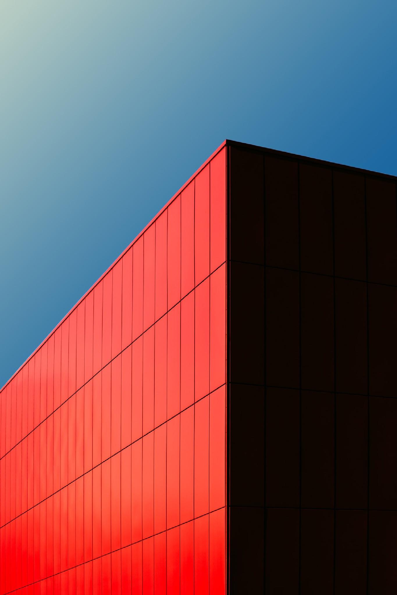 Red Cube by Tomáš Hudolin
