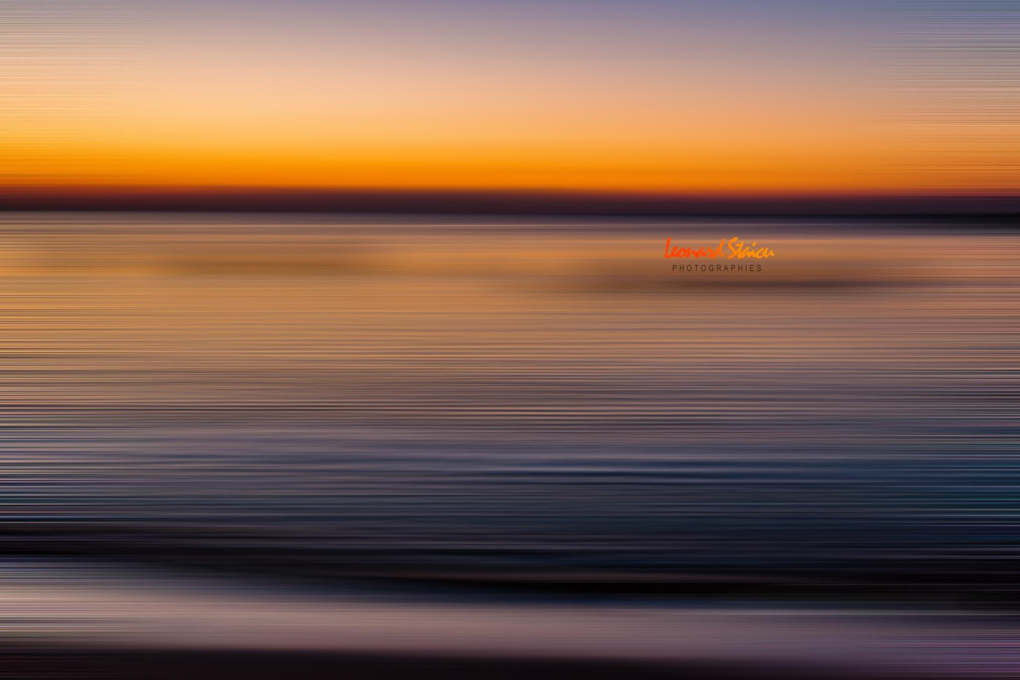 Romanian black sea by Leo