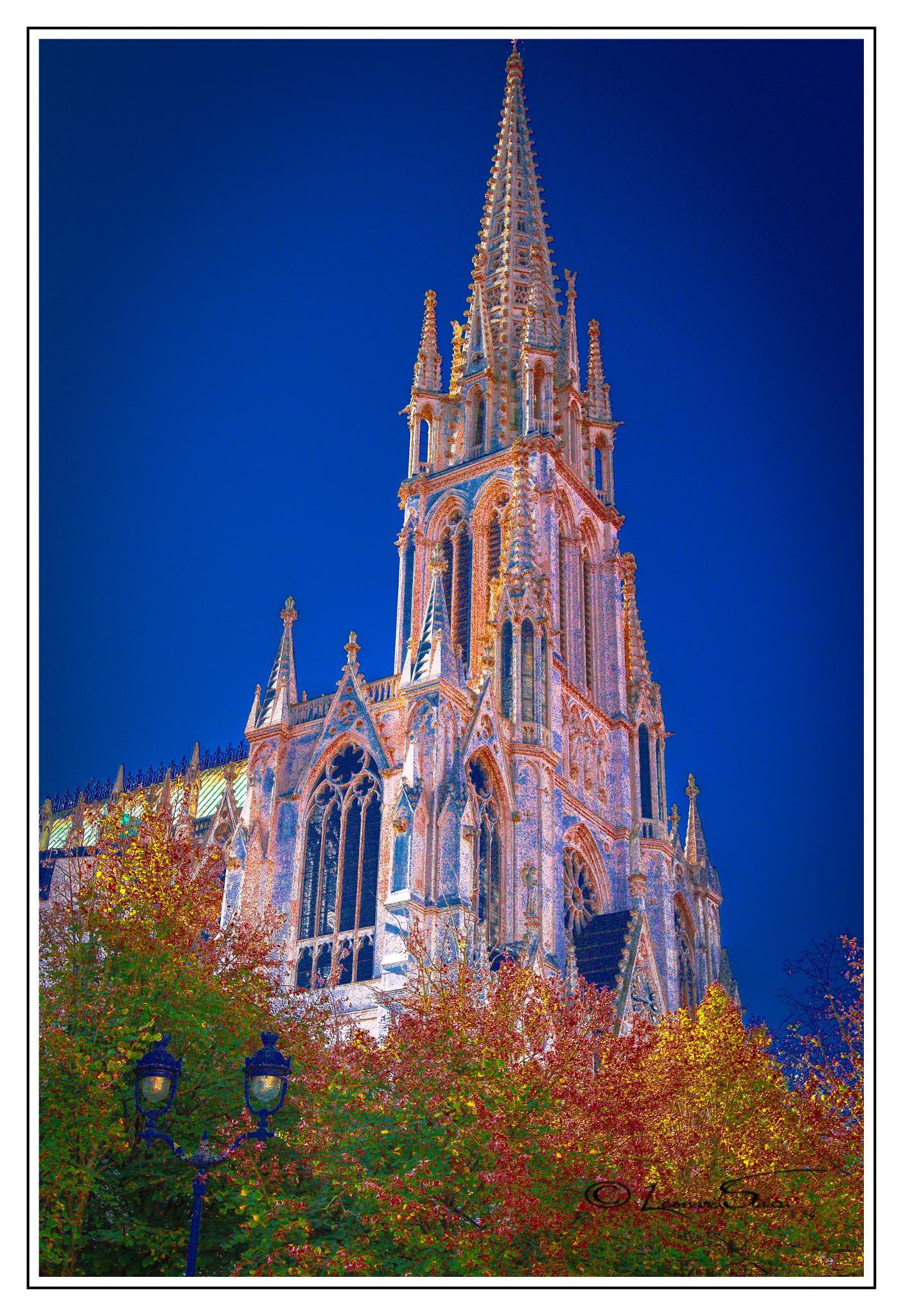 Basilique St-Epvre-Nancy by Leo