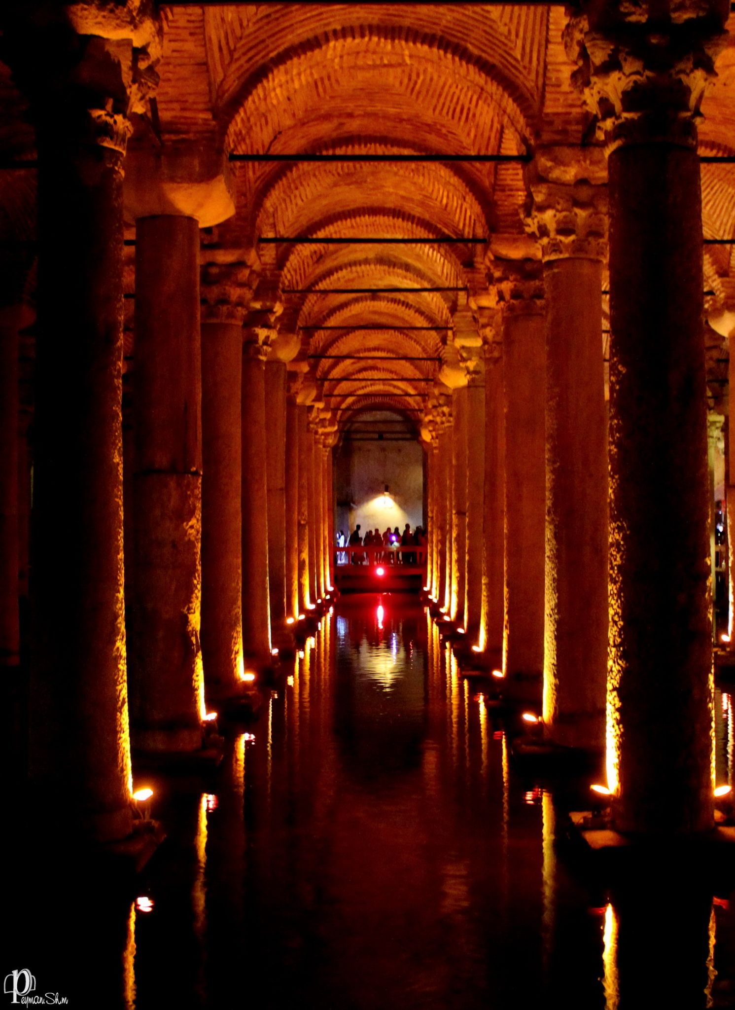 Istanbul-Basilica cistern by Peyman shm