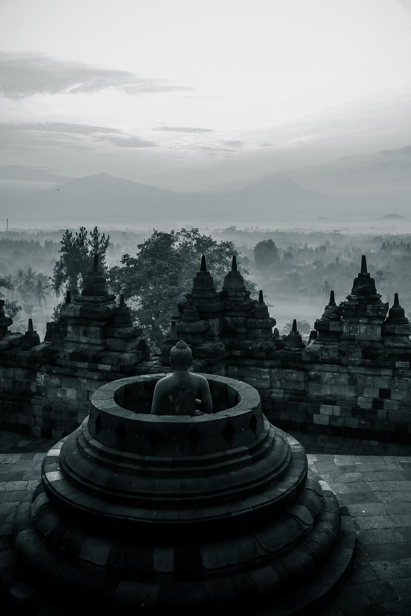 Borobudur  by Hendranatha