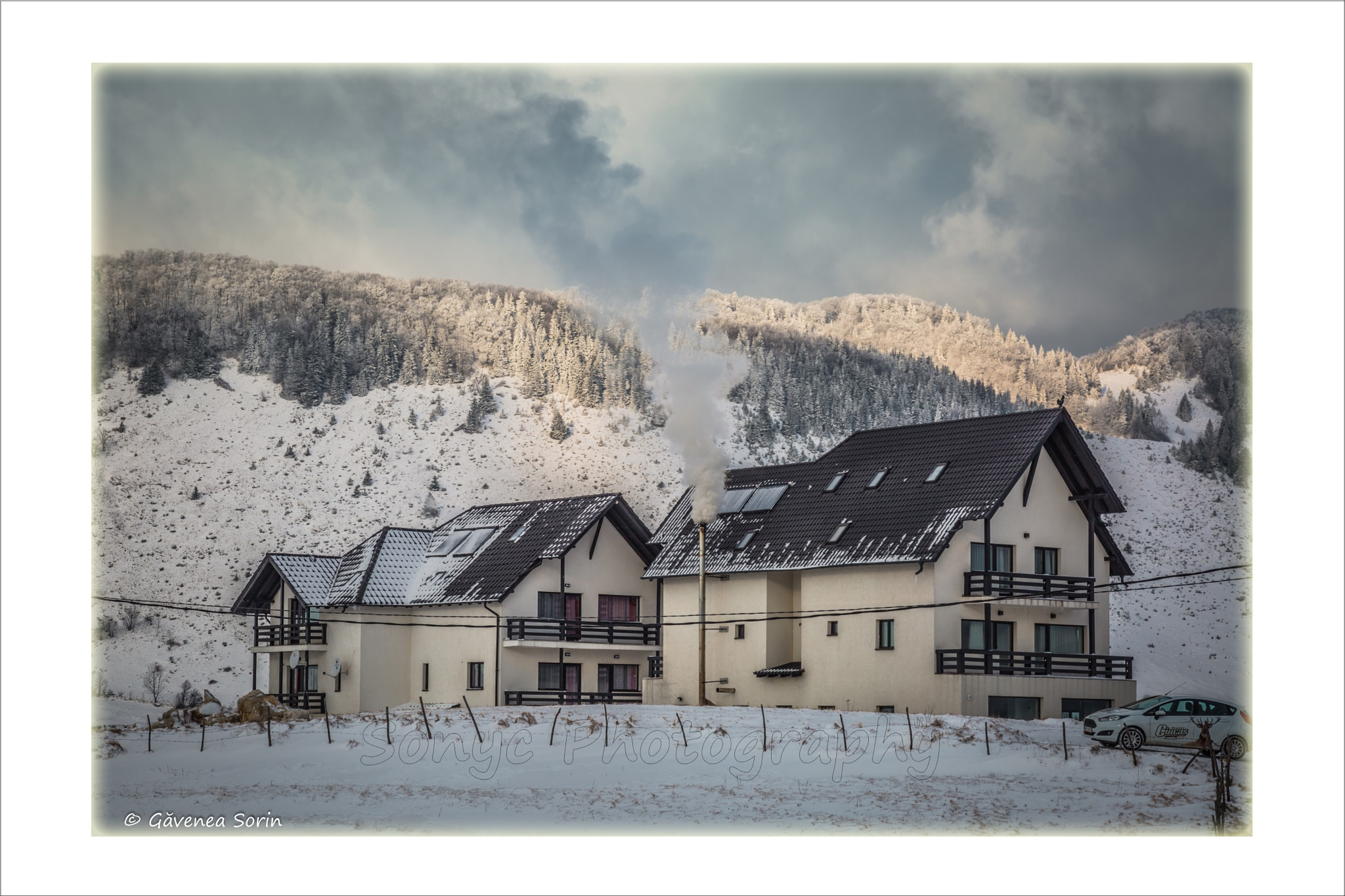 Cottage in the mountains by Gavenea Sorin