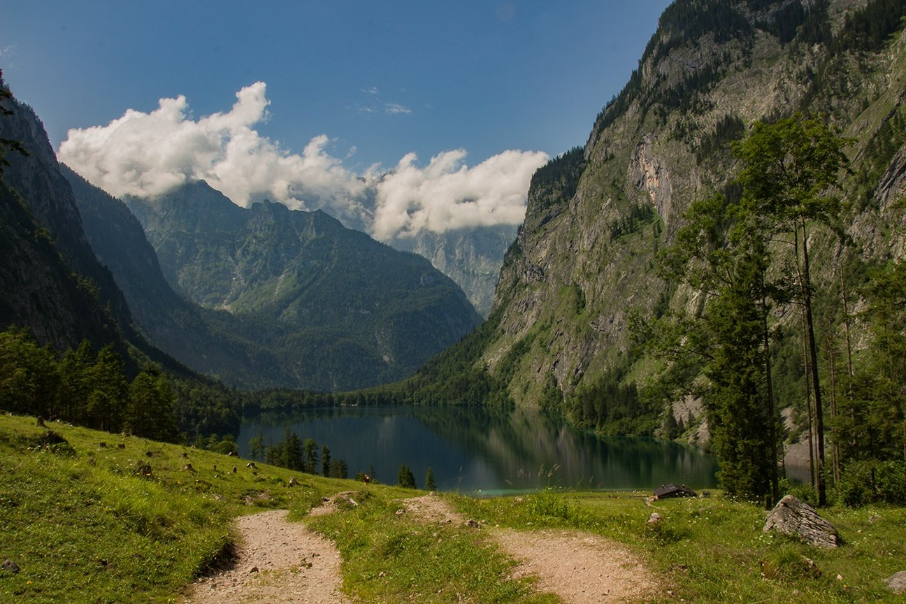 Fischunkenalm am Obersee by Syllegraphie
