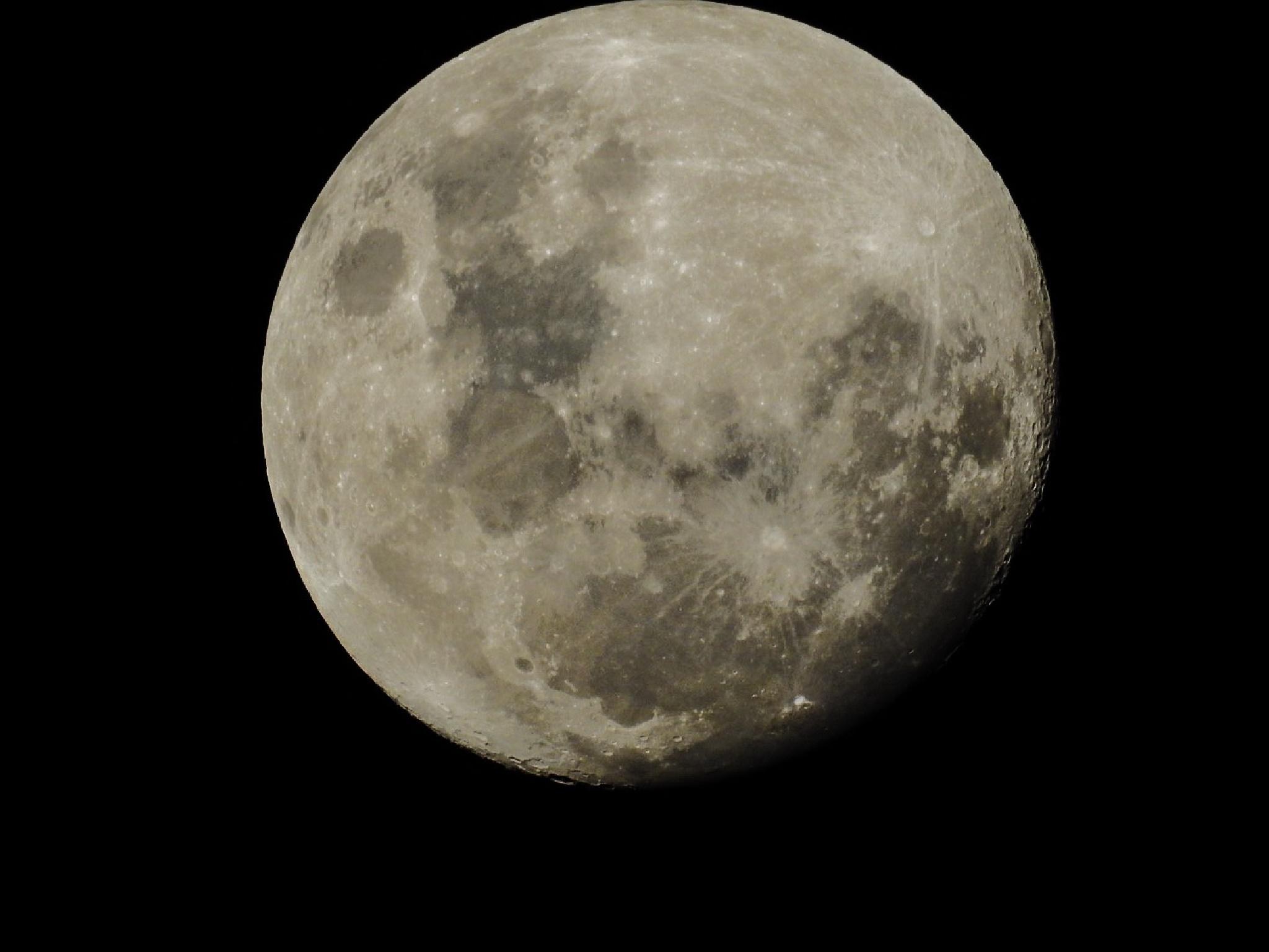 Tonight's moon by Dickynee