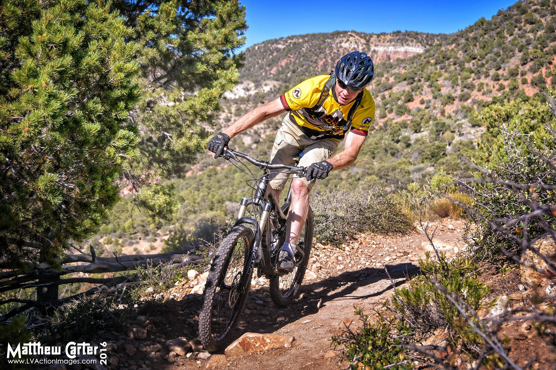 Mountain Biking In Southern Utah by LV Action Images