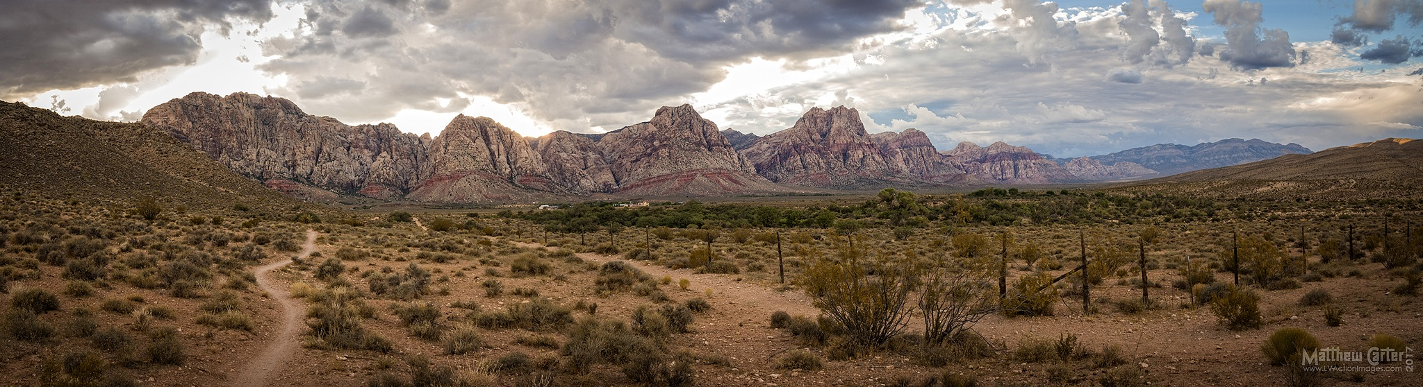 Red Rock Canyon by LV Photo Art